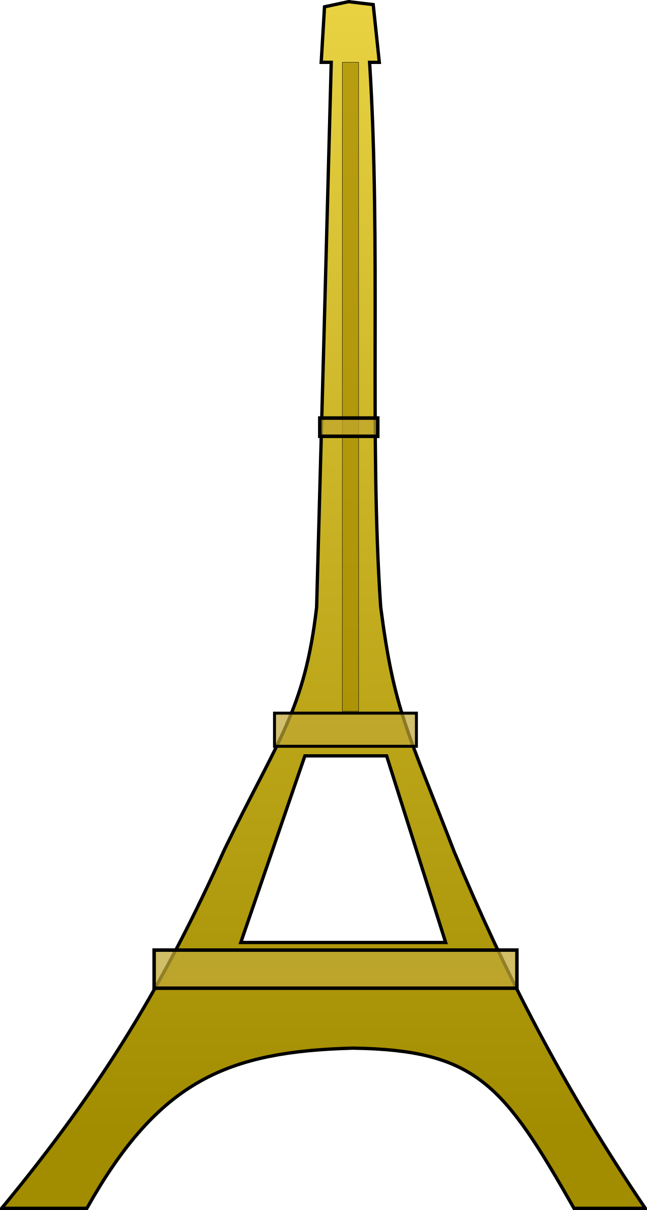 Eiffel tower by Anonymous