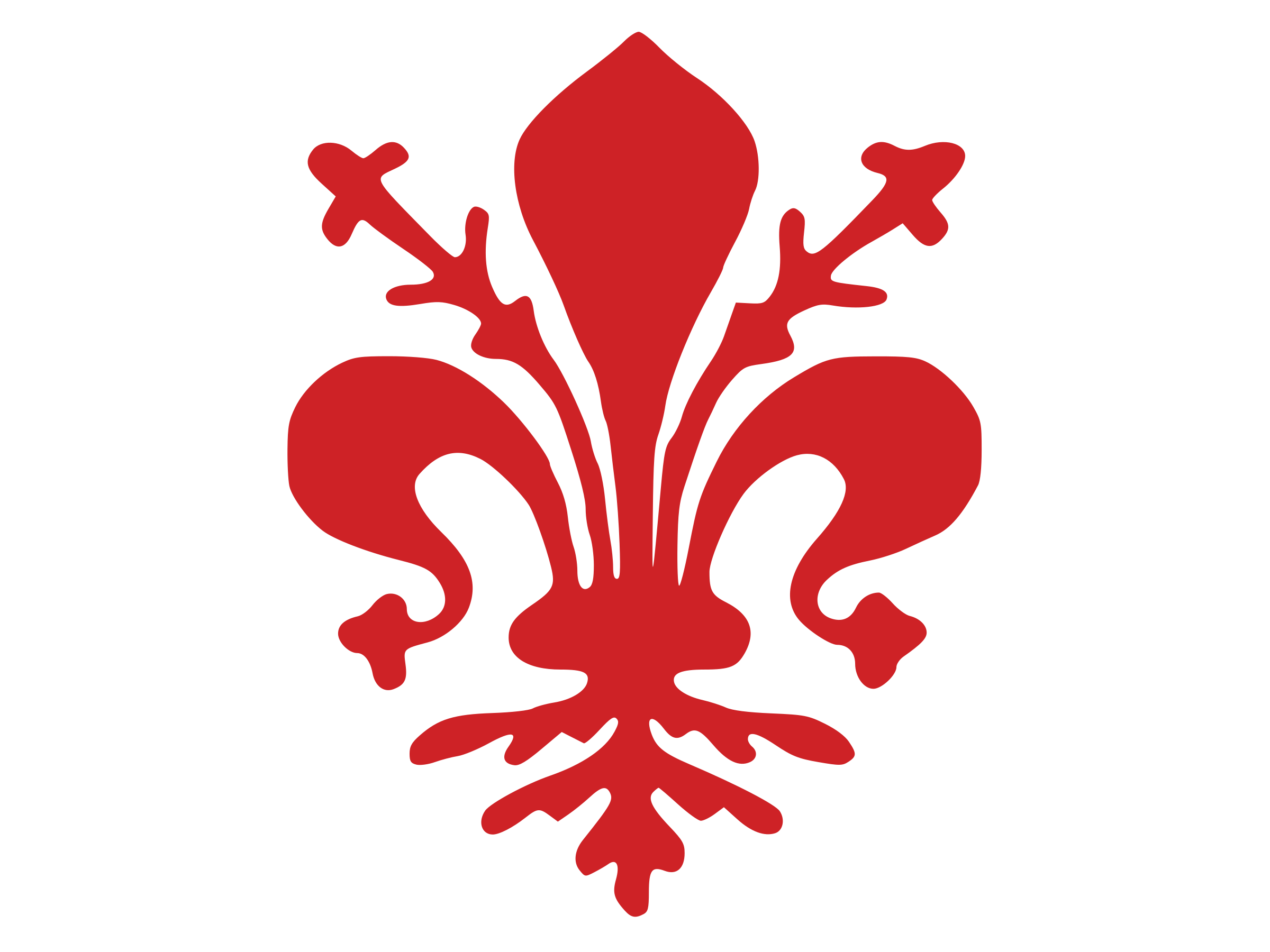 city flag of Florence by Anonymous