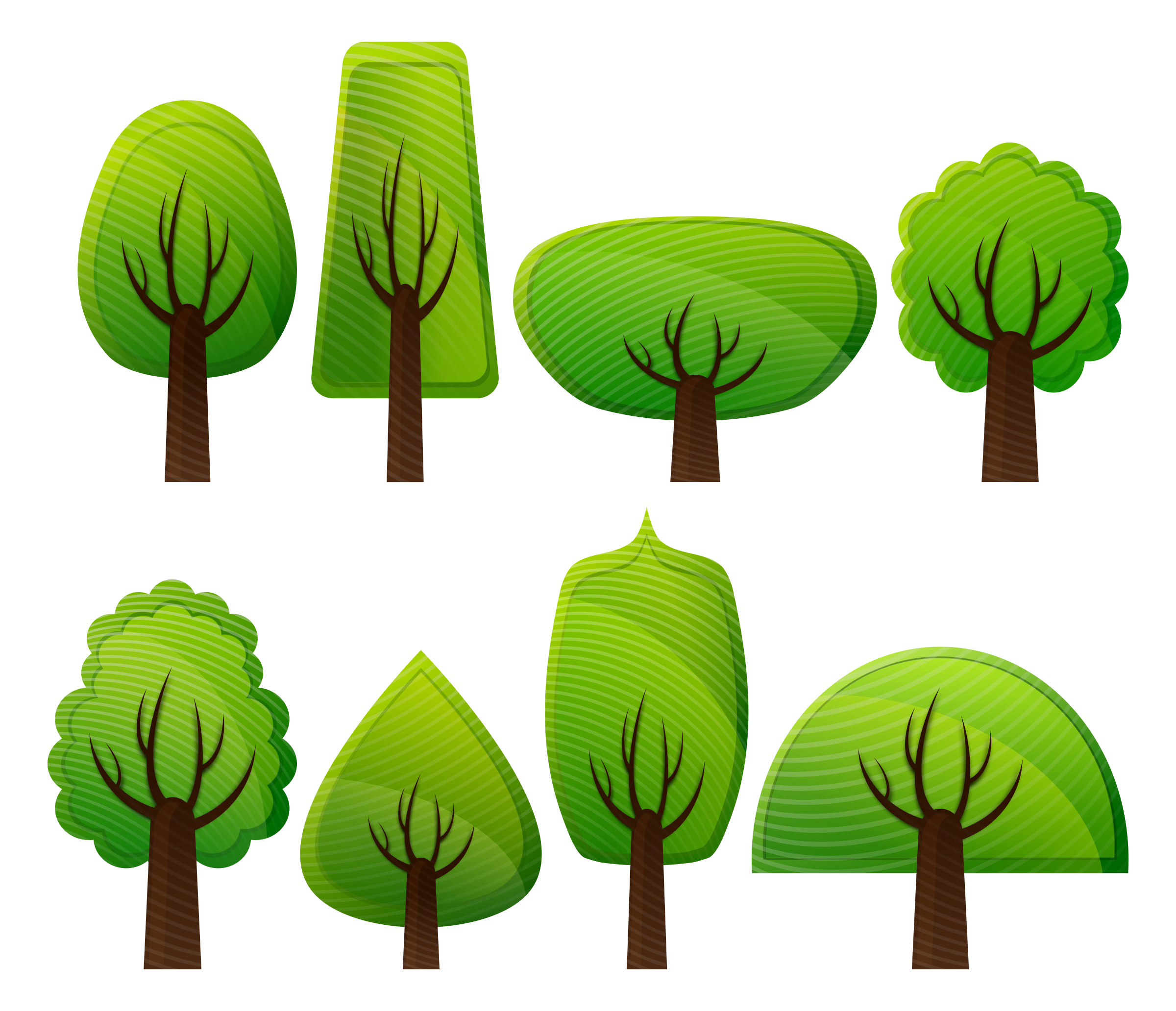 Simple Trees by Viscious-Speed