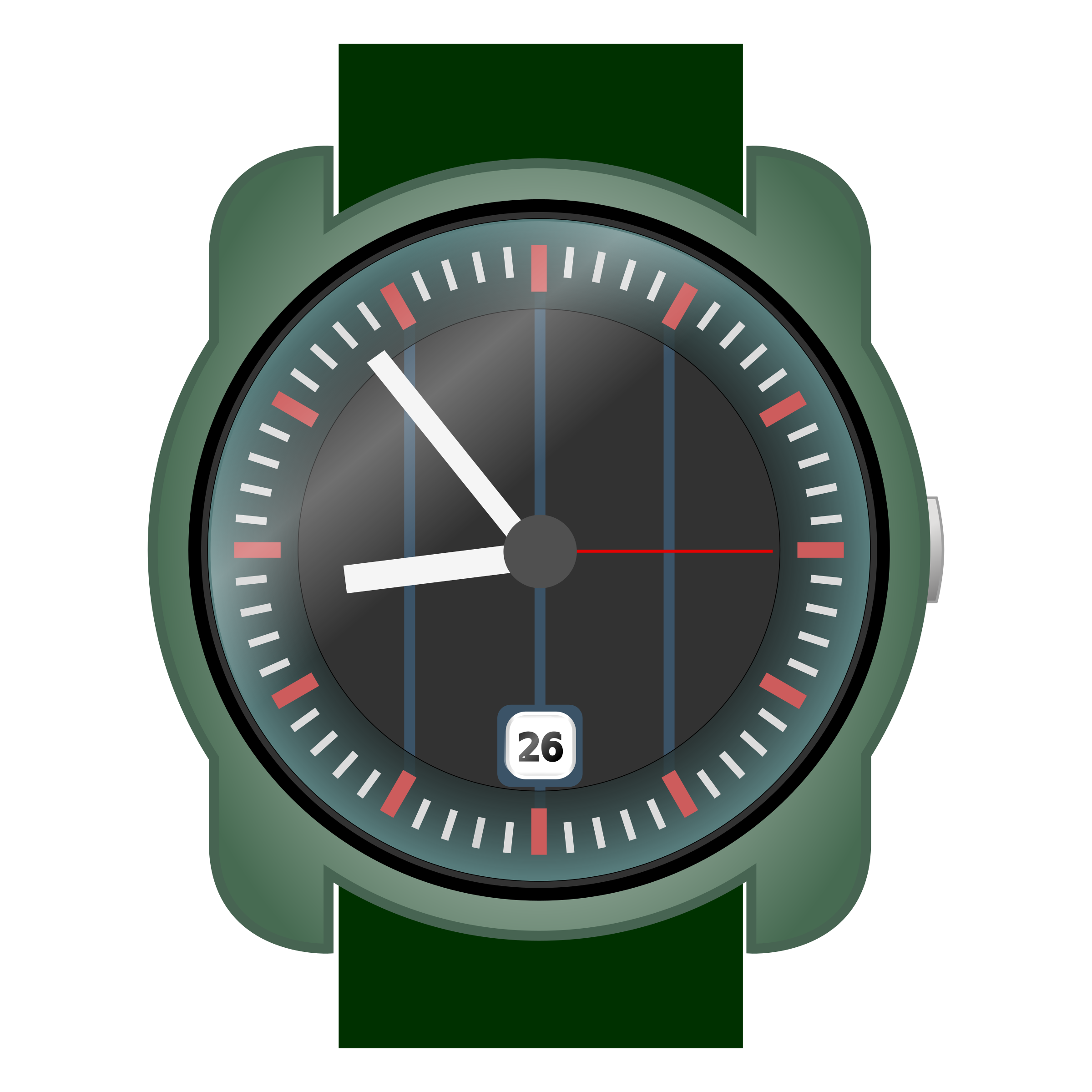 Analog wrist-watch by Stellaris