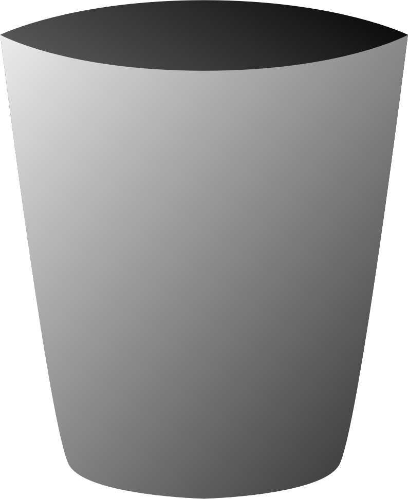 Clipart - Trash Can