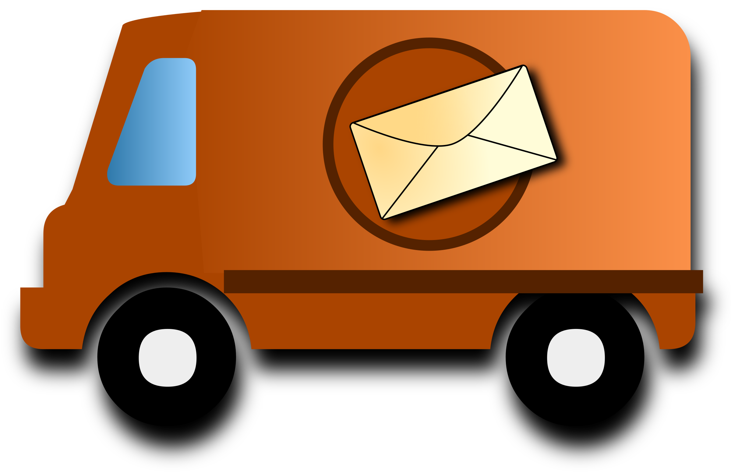 Mail van by krypt