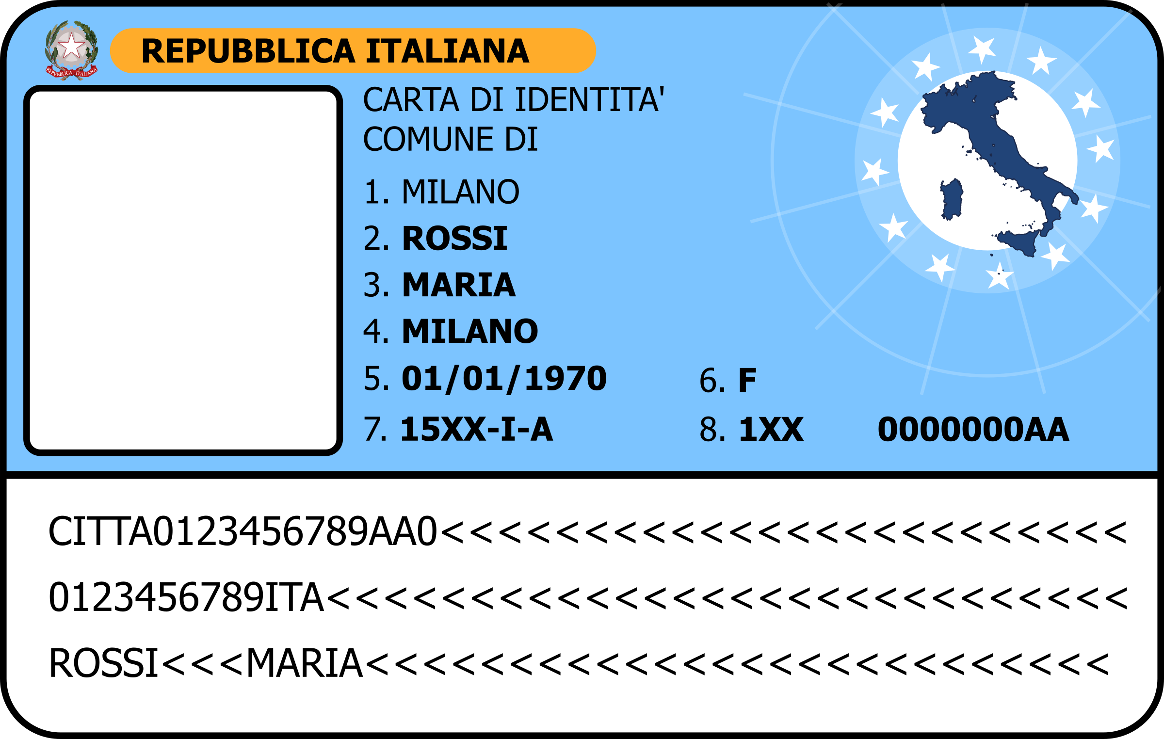Carta d'identità - ID card by krypt
