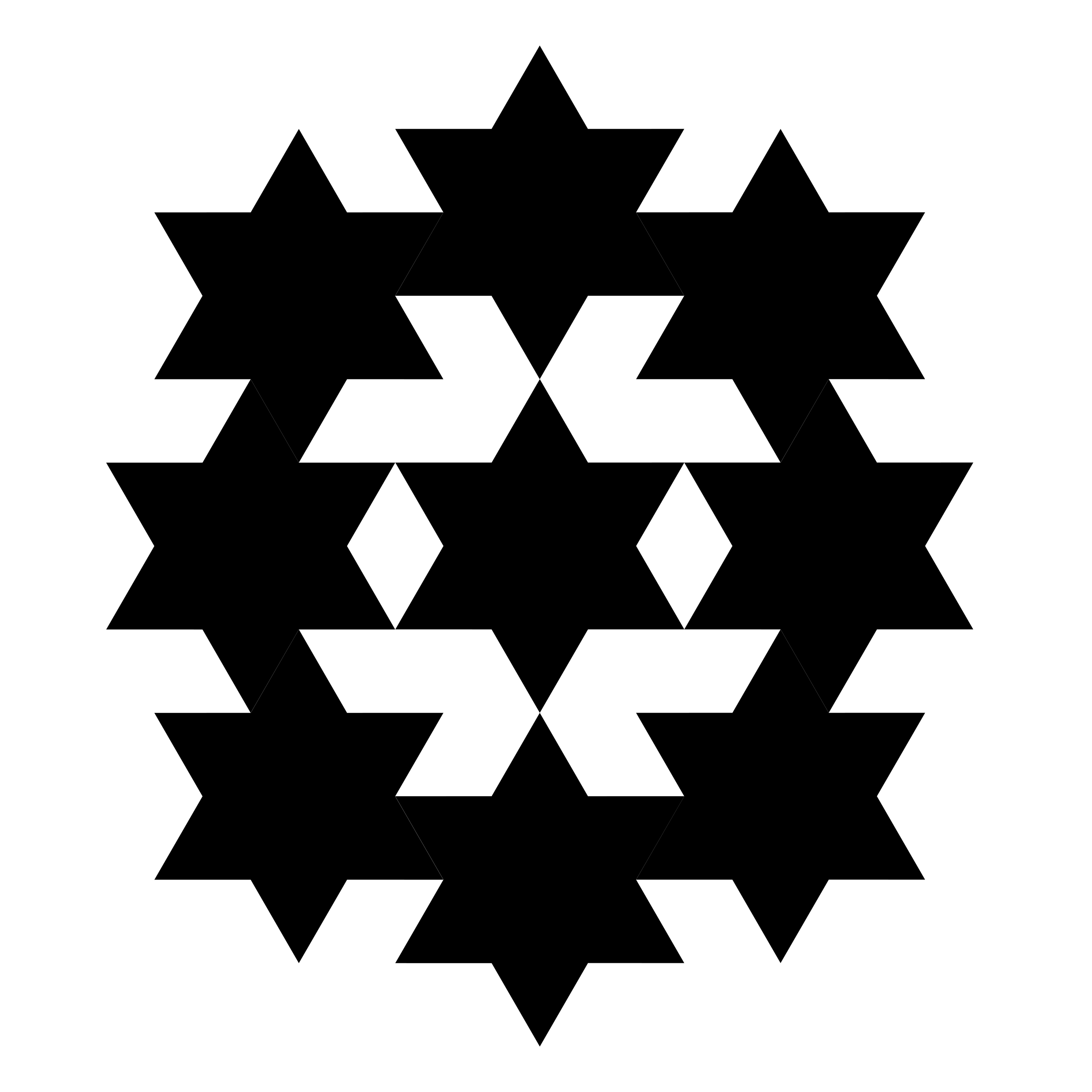 hexagram connection by 10binary