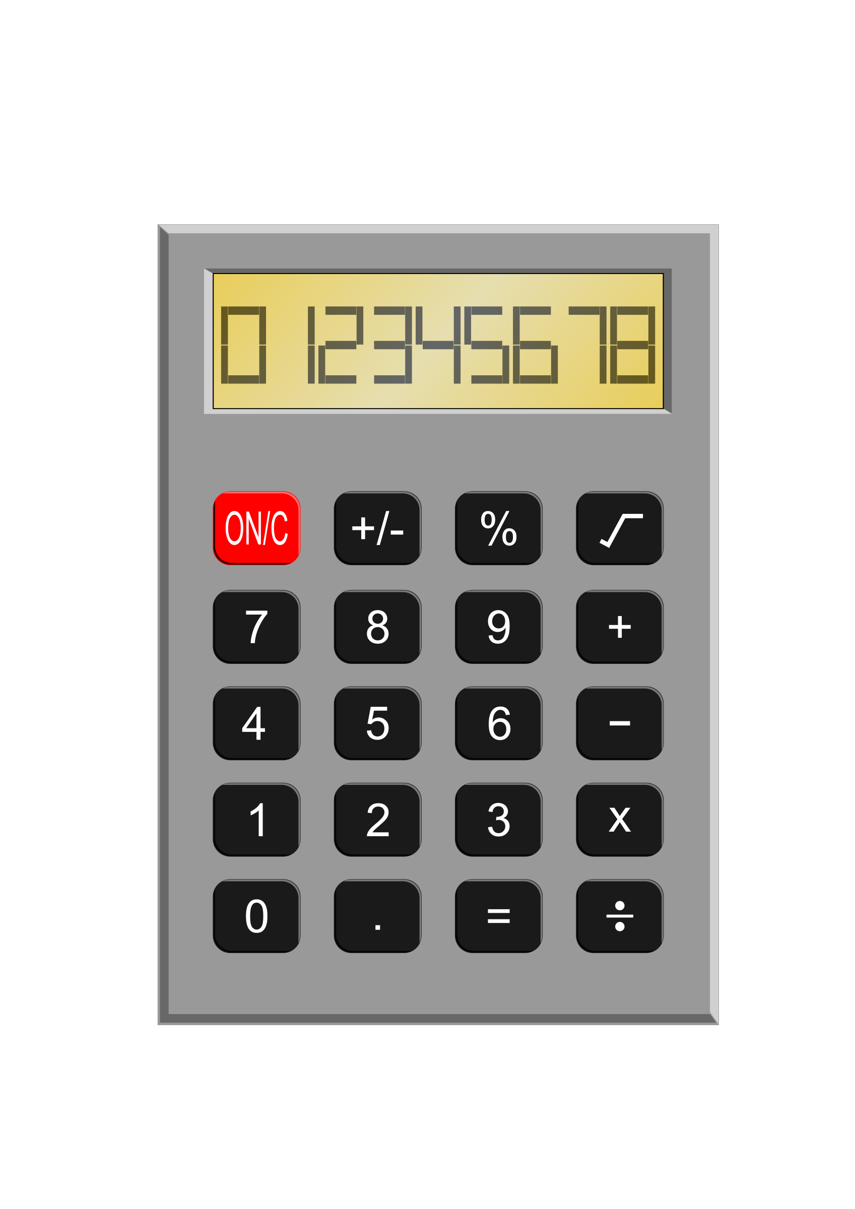 Old Calculator by kevie