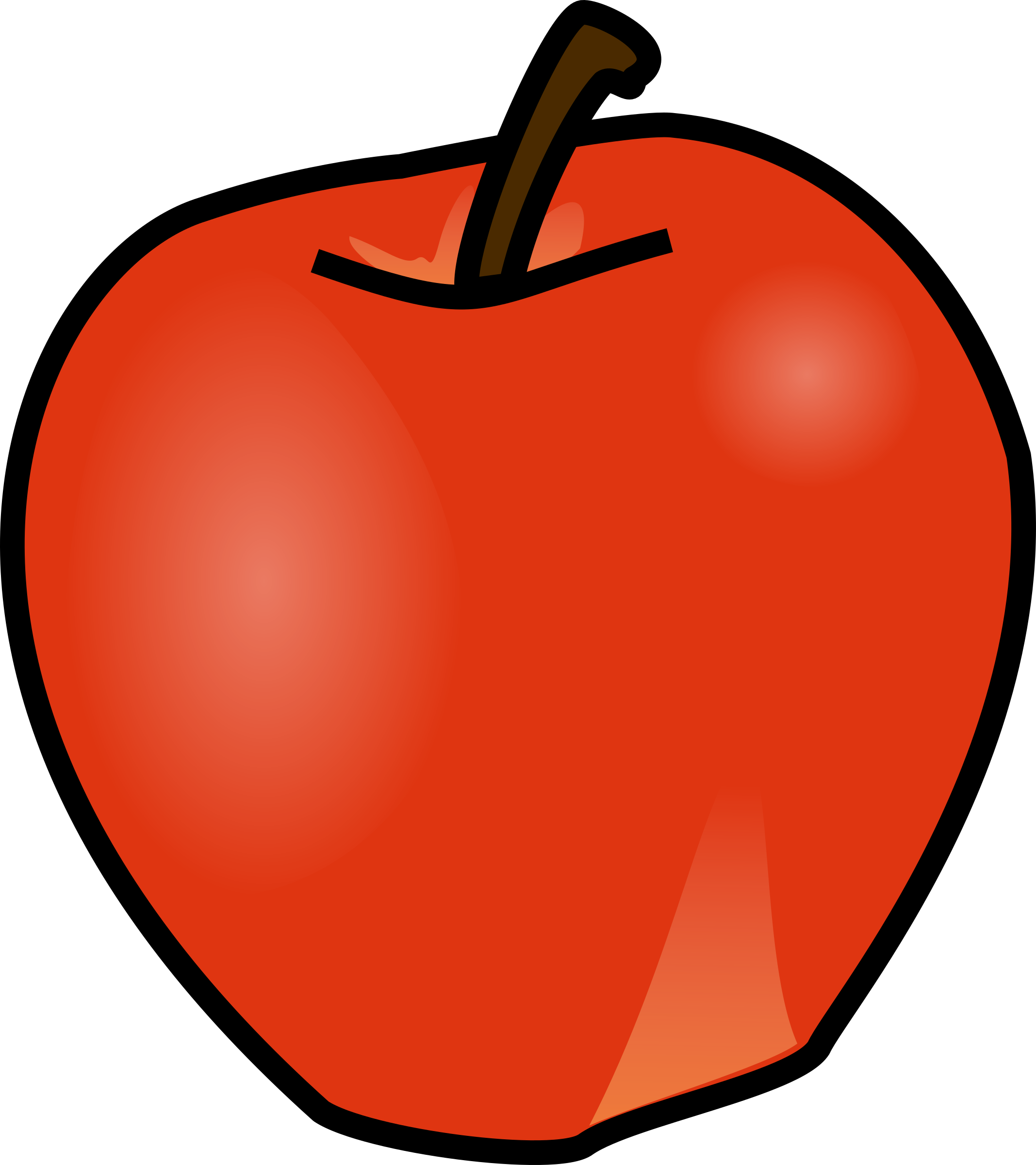 clipart picture of apple - photo #29