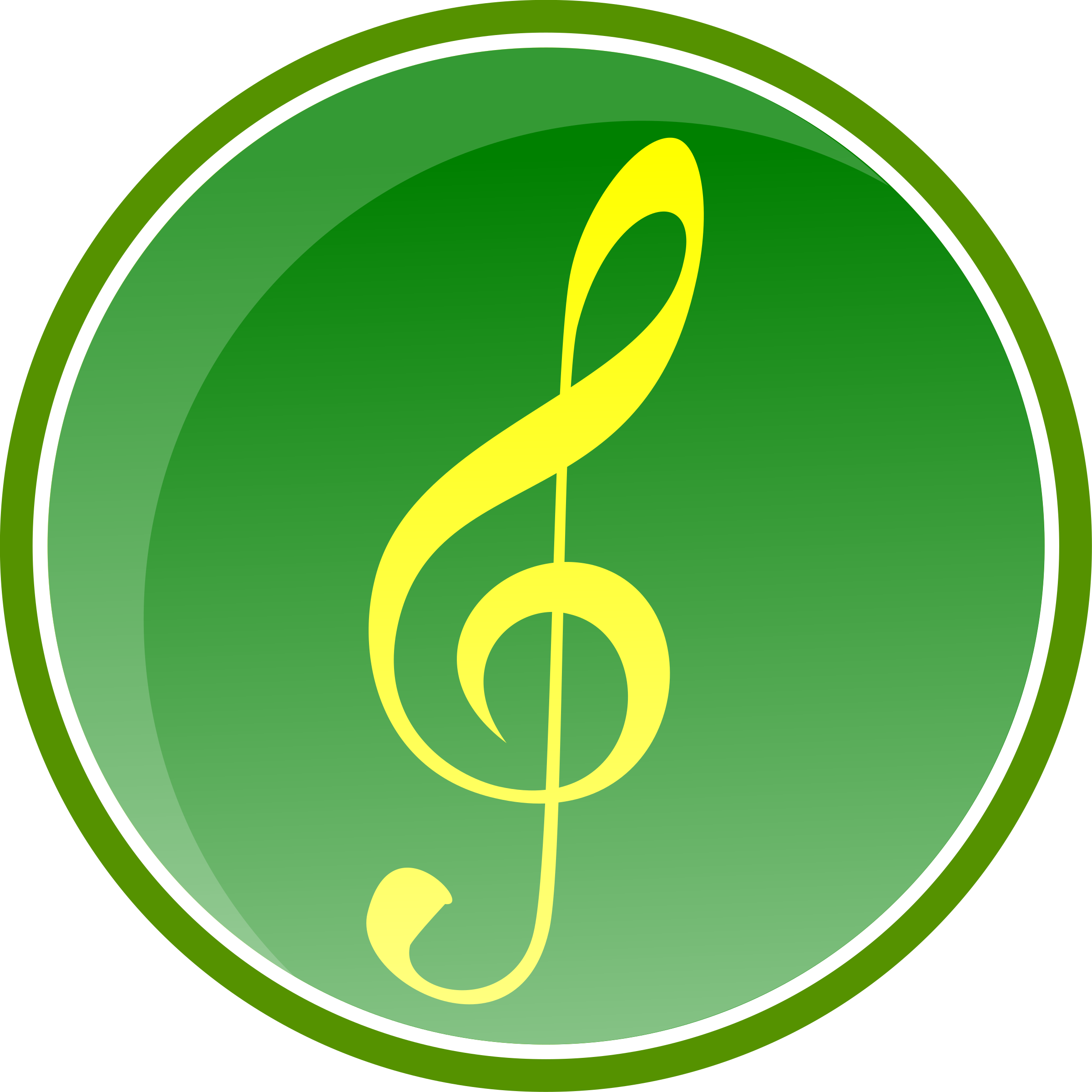 Music Icon-Green-2 by gsagri04