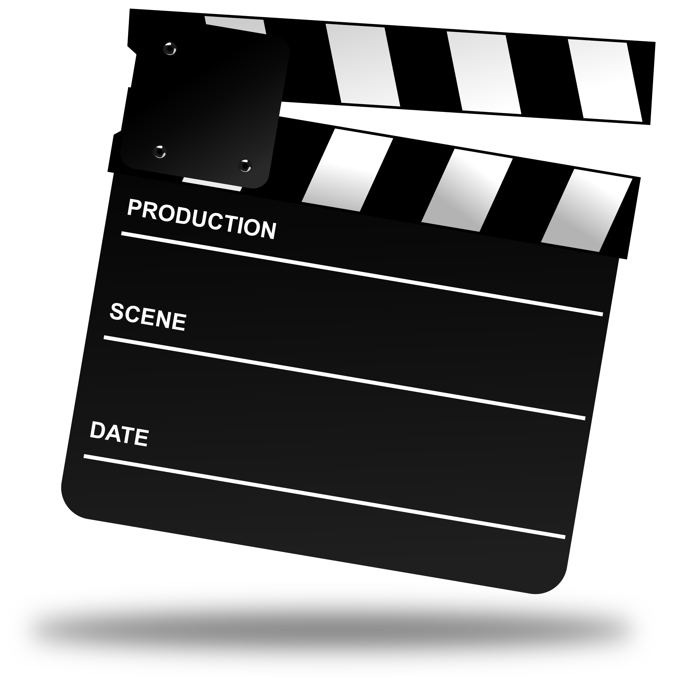 Movie Clapper Board by gnokii