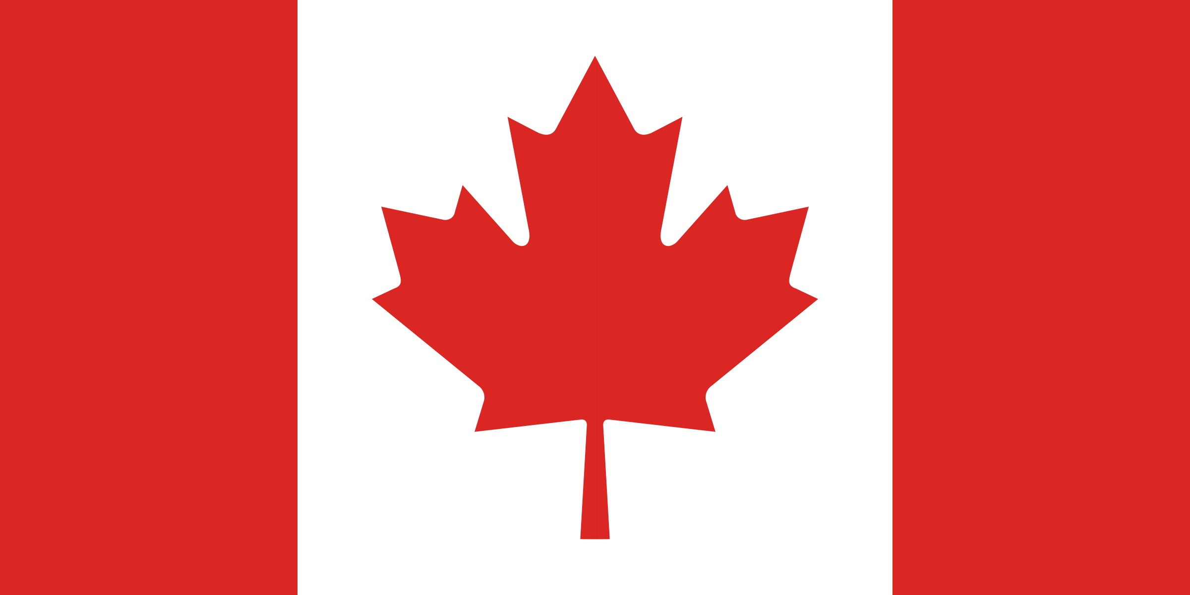 Flag of Canada by Anonymous