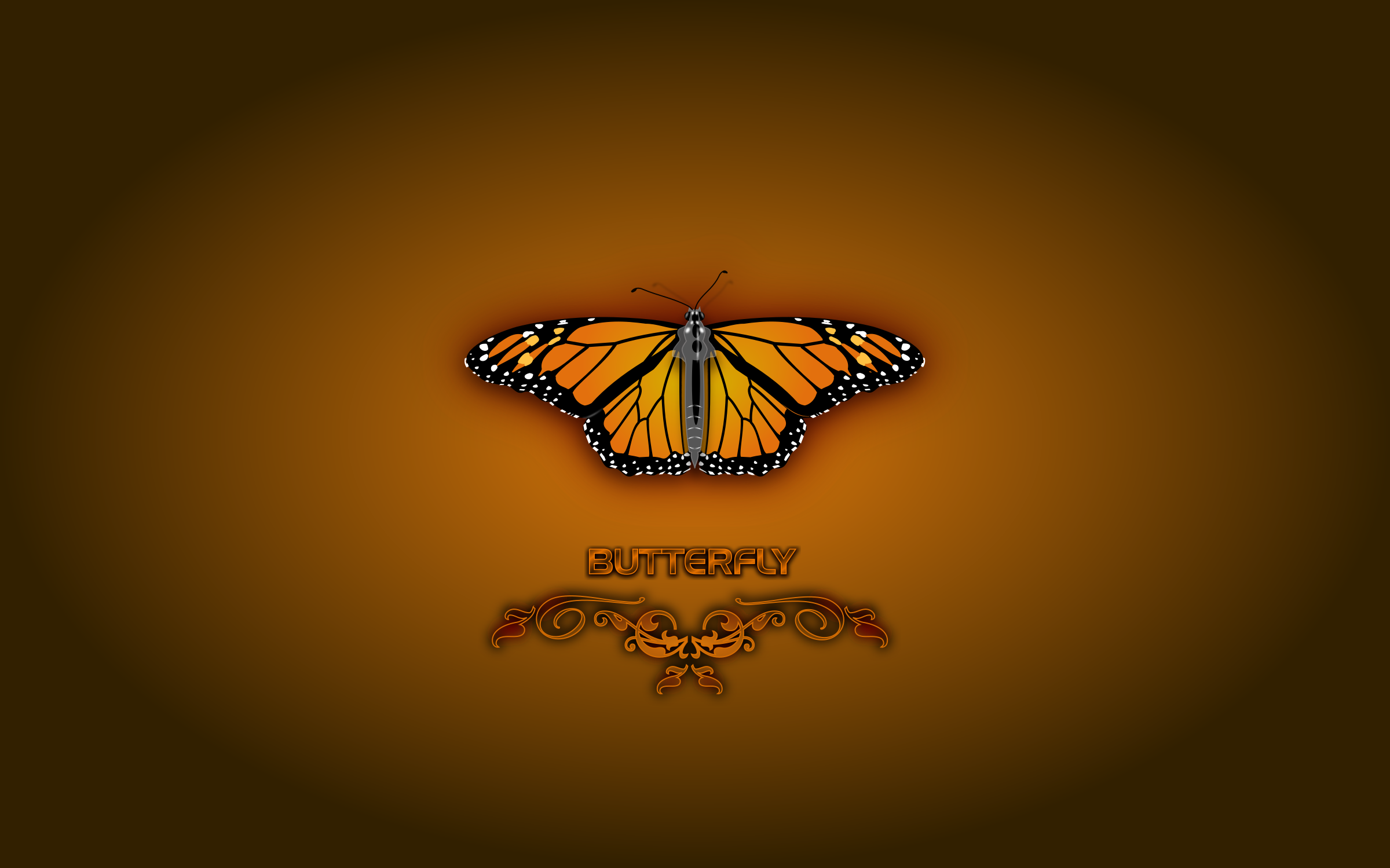 Butterfly (Wallpaper) by mystica