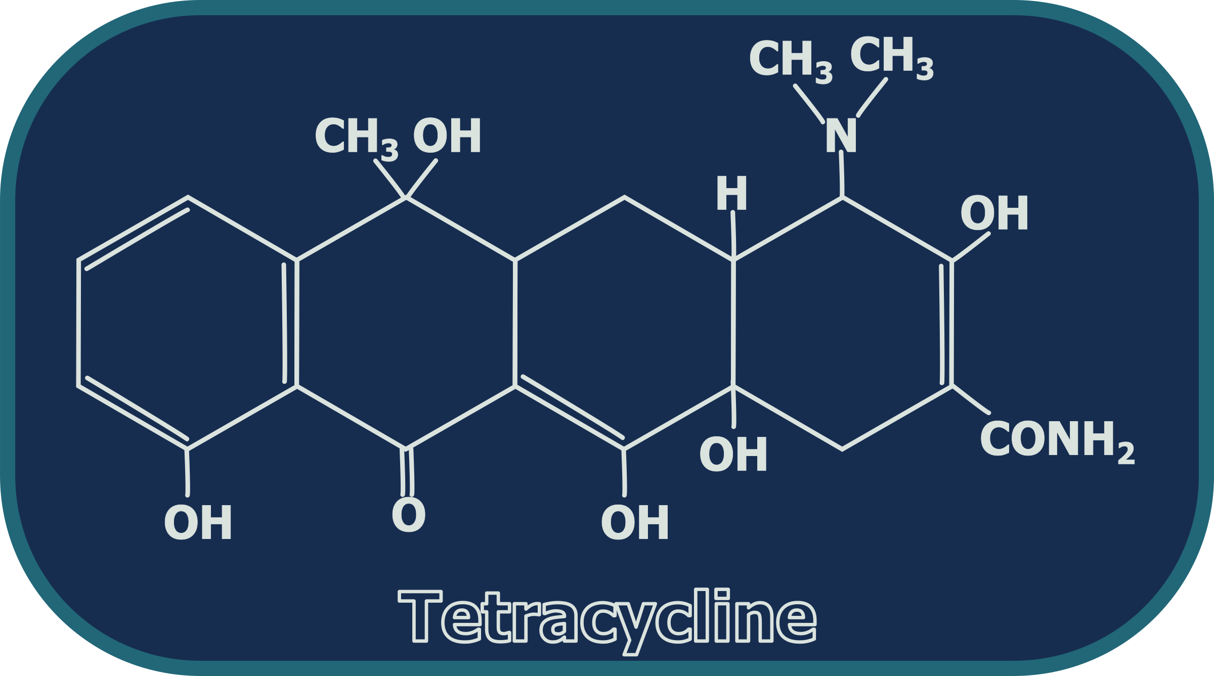 Tetracycline Structure by gsagri04