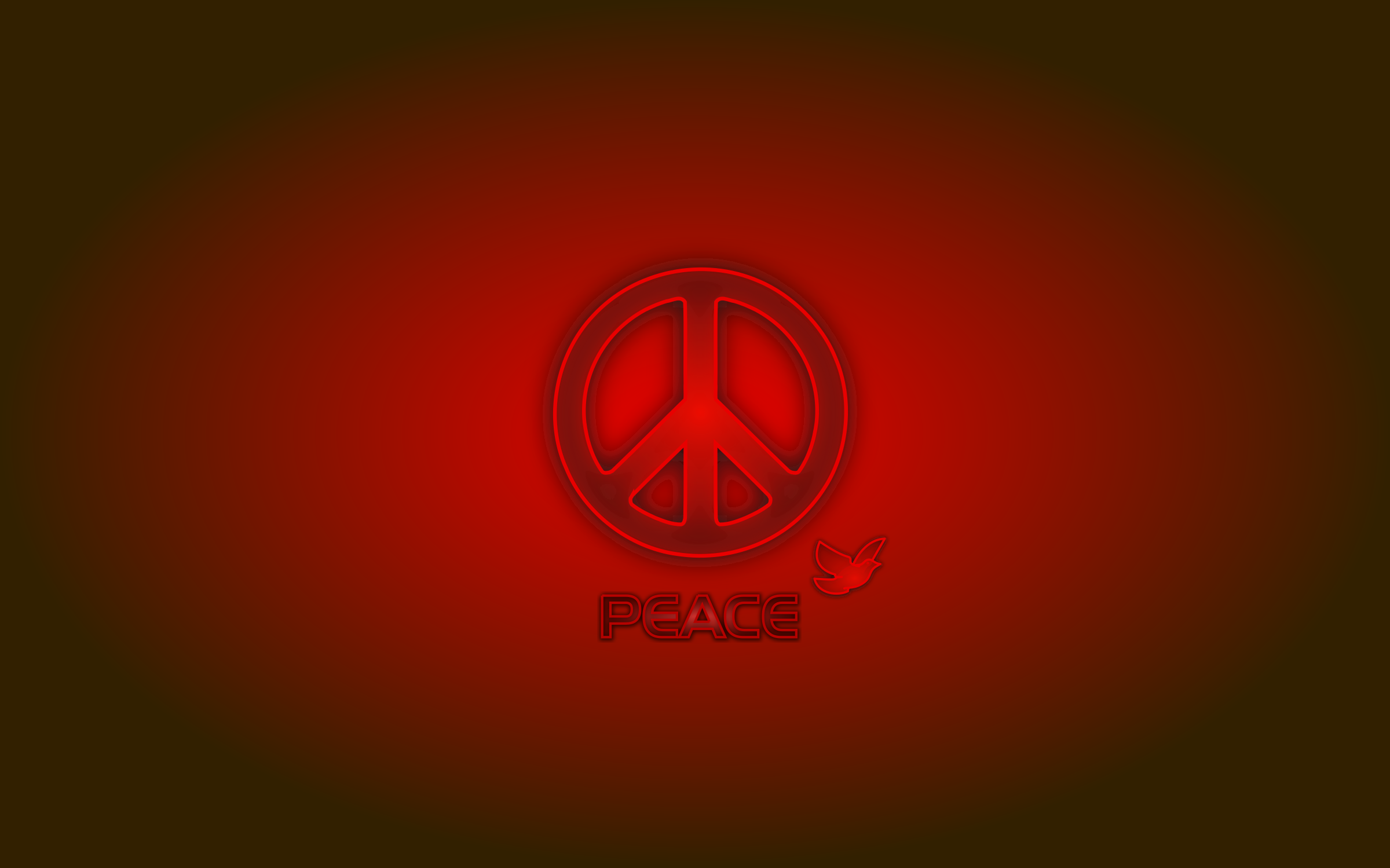Peace 2 You (Wallpaper) by mystica