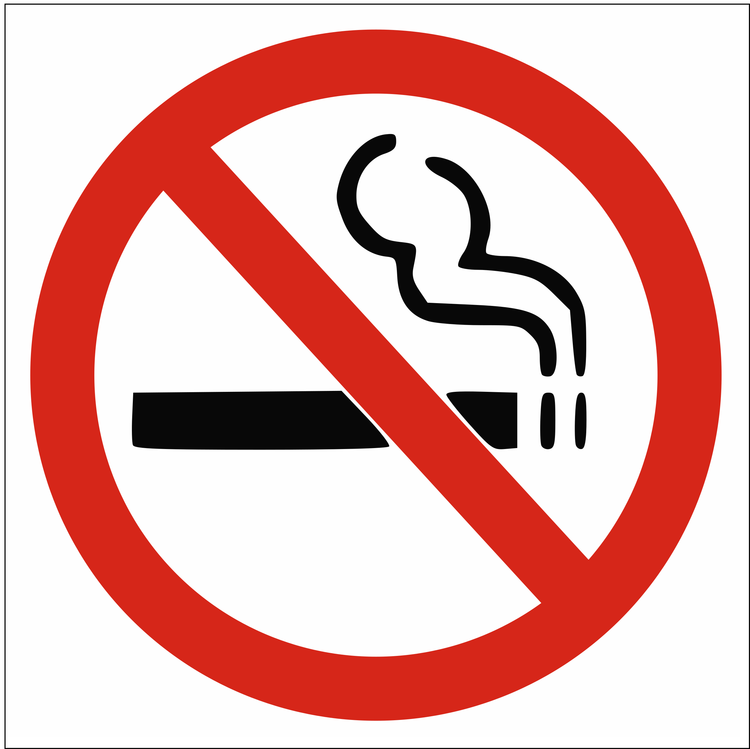 no smoking sign by Anonymous