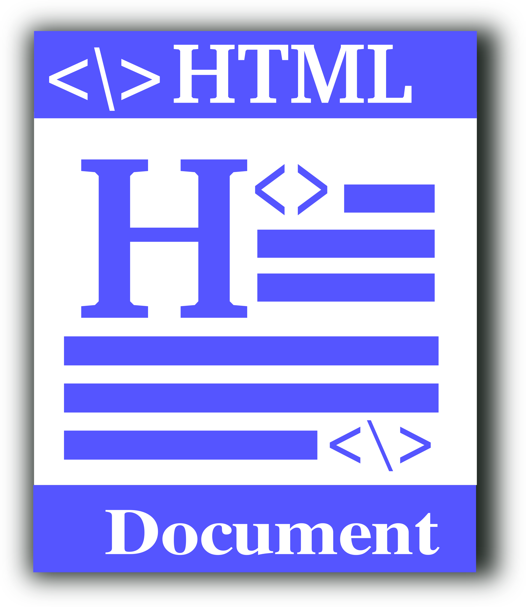 HTML file icon by gsagri04