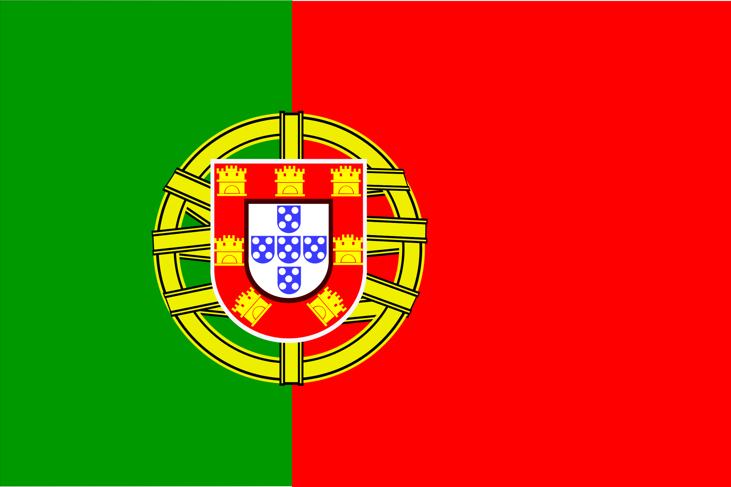 Flag of Portugal by Anonymous
