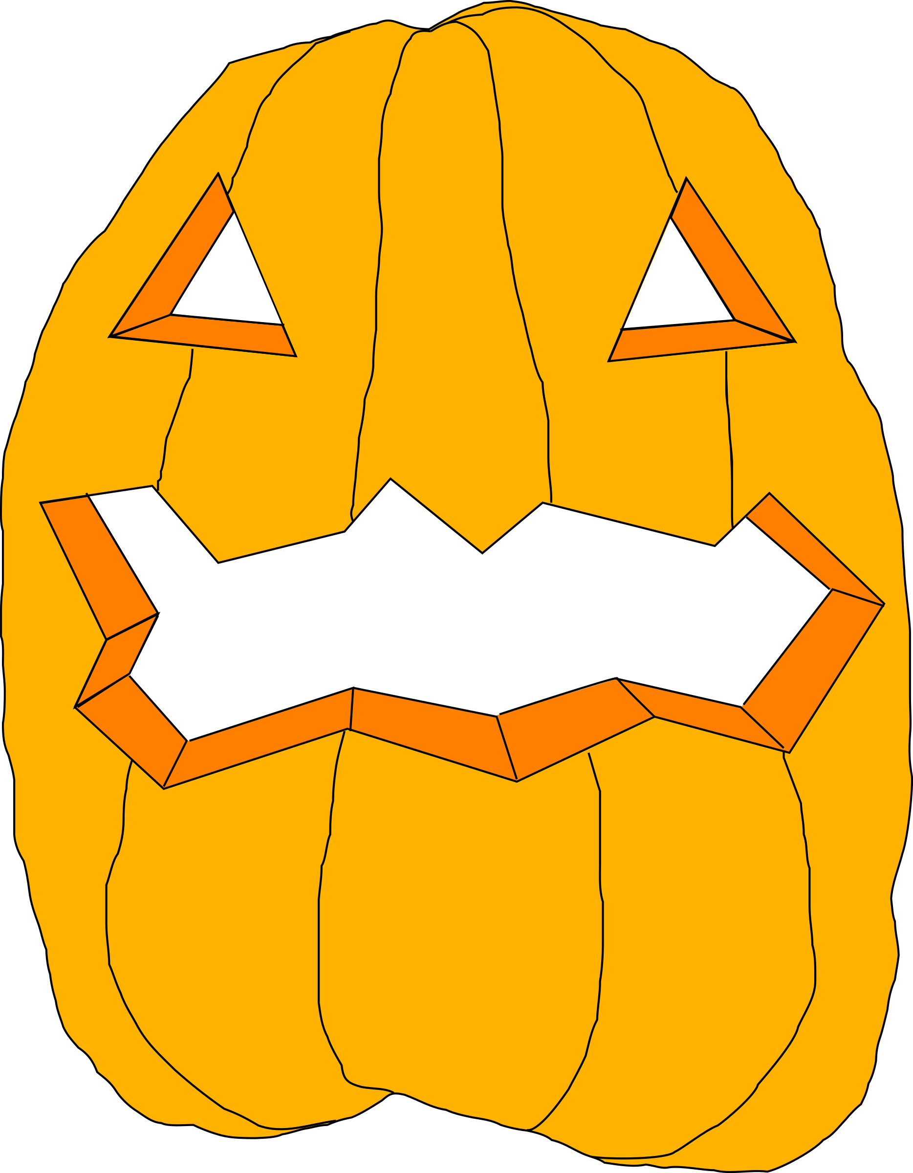 pumpkin by Anonymous