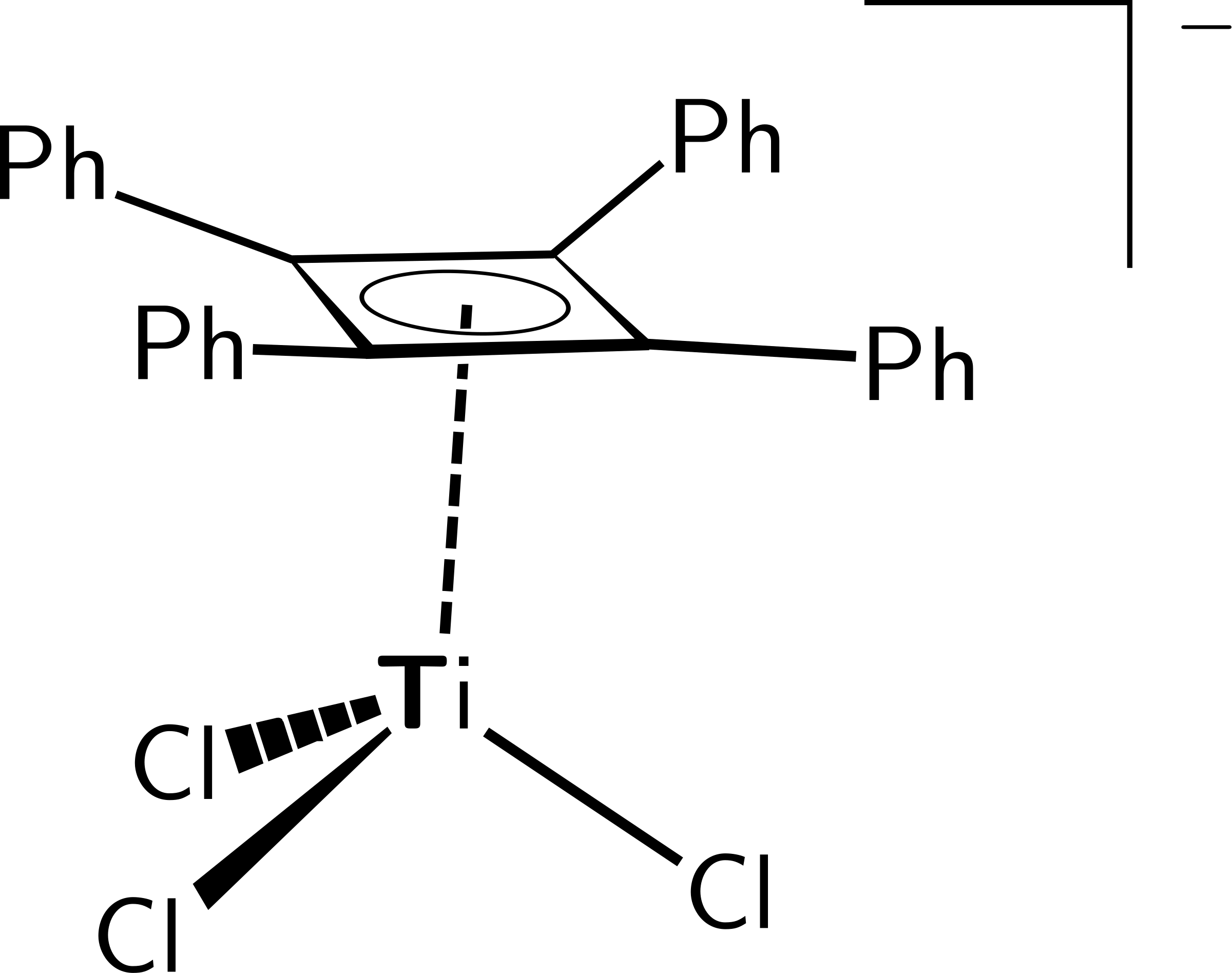Titanium Complex of Tetraphenylcyclobutadiene by ccummins