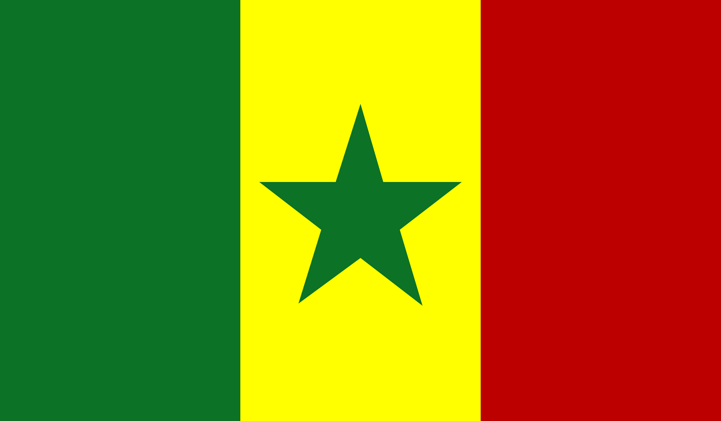 Flag of Senegal by Anonymous