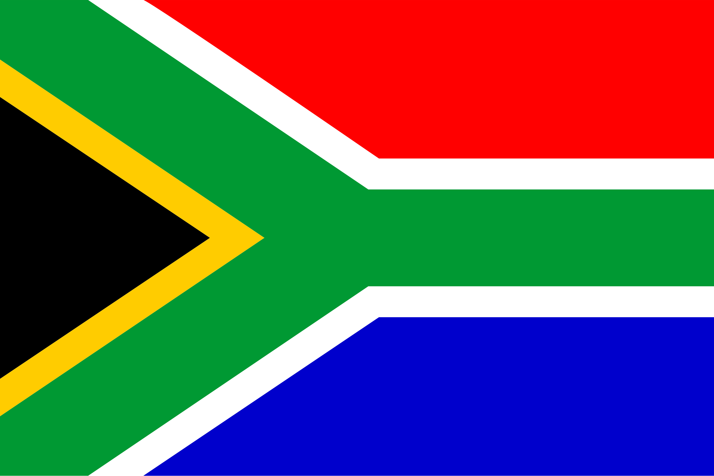 Flag of South Africa by Anonymous