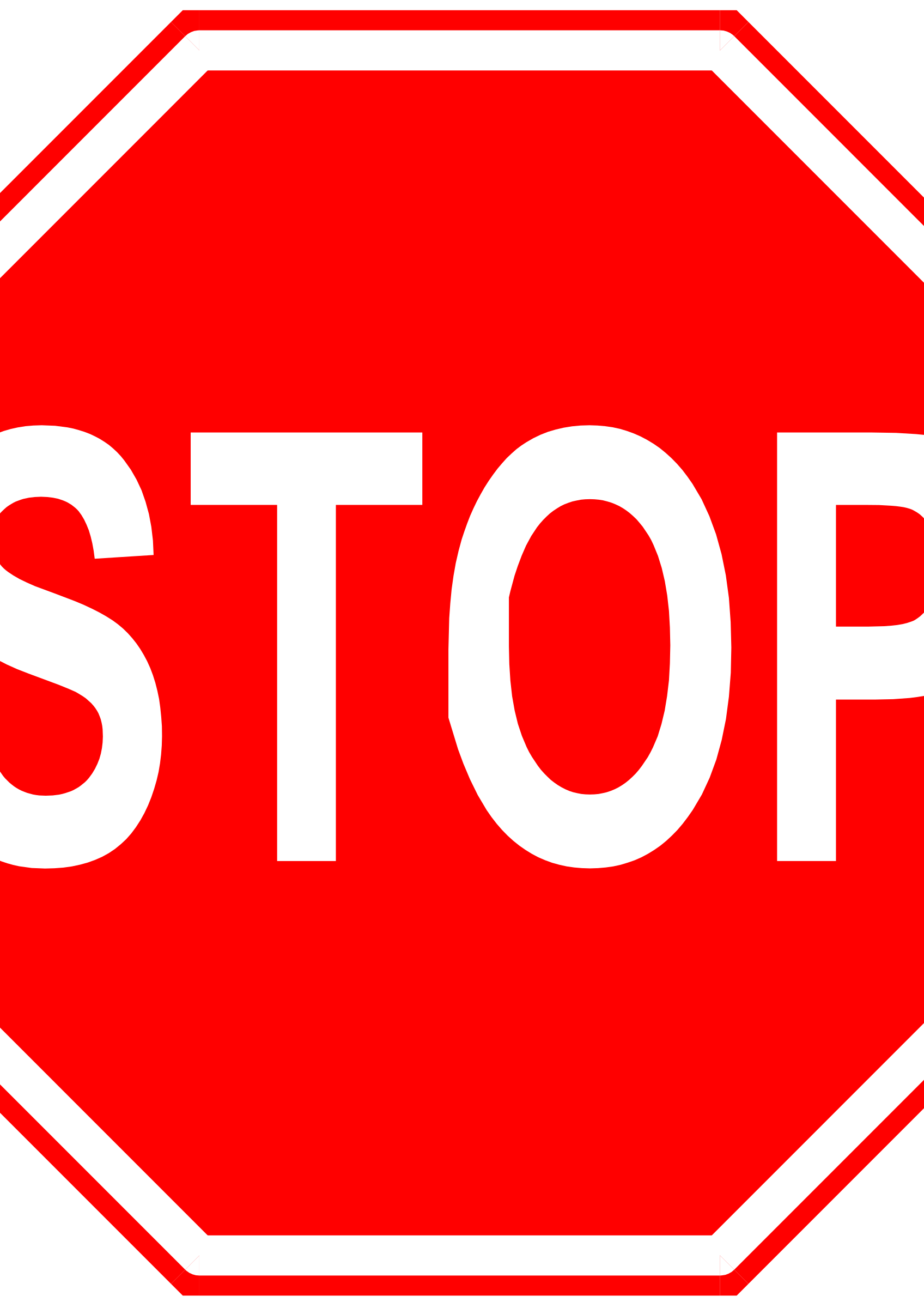 stop sign by Anonymous