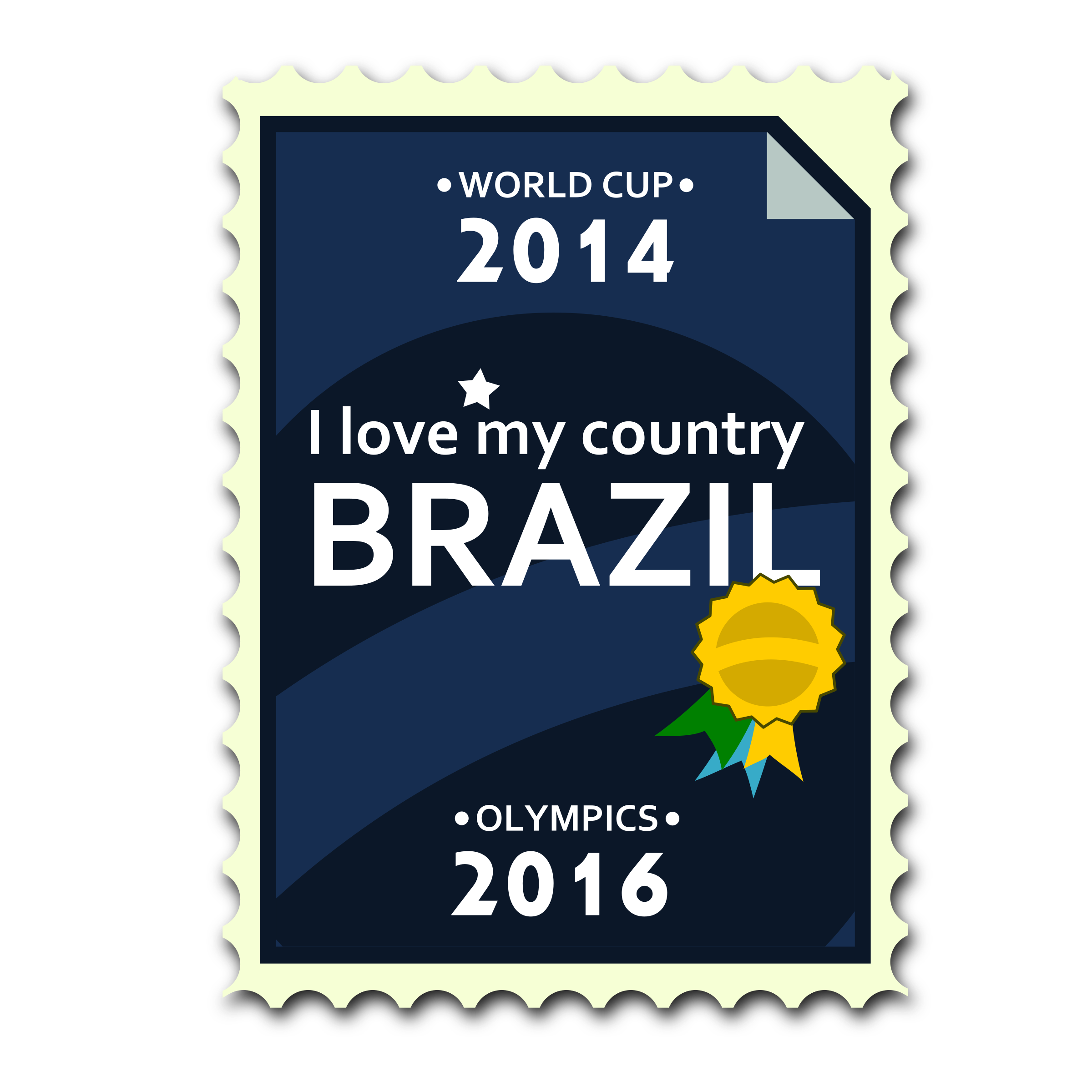 Brazil 2014-2016 Postage Stamp by ricardomaia