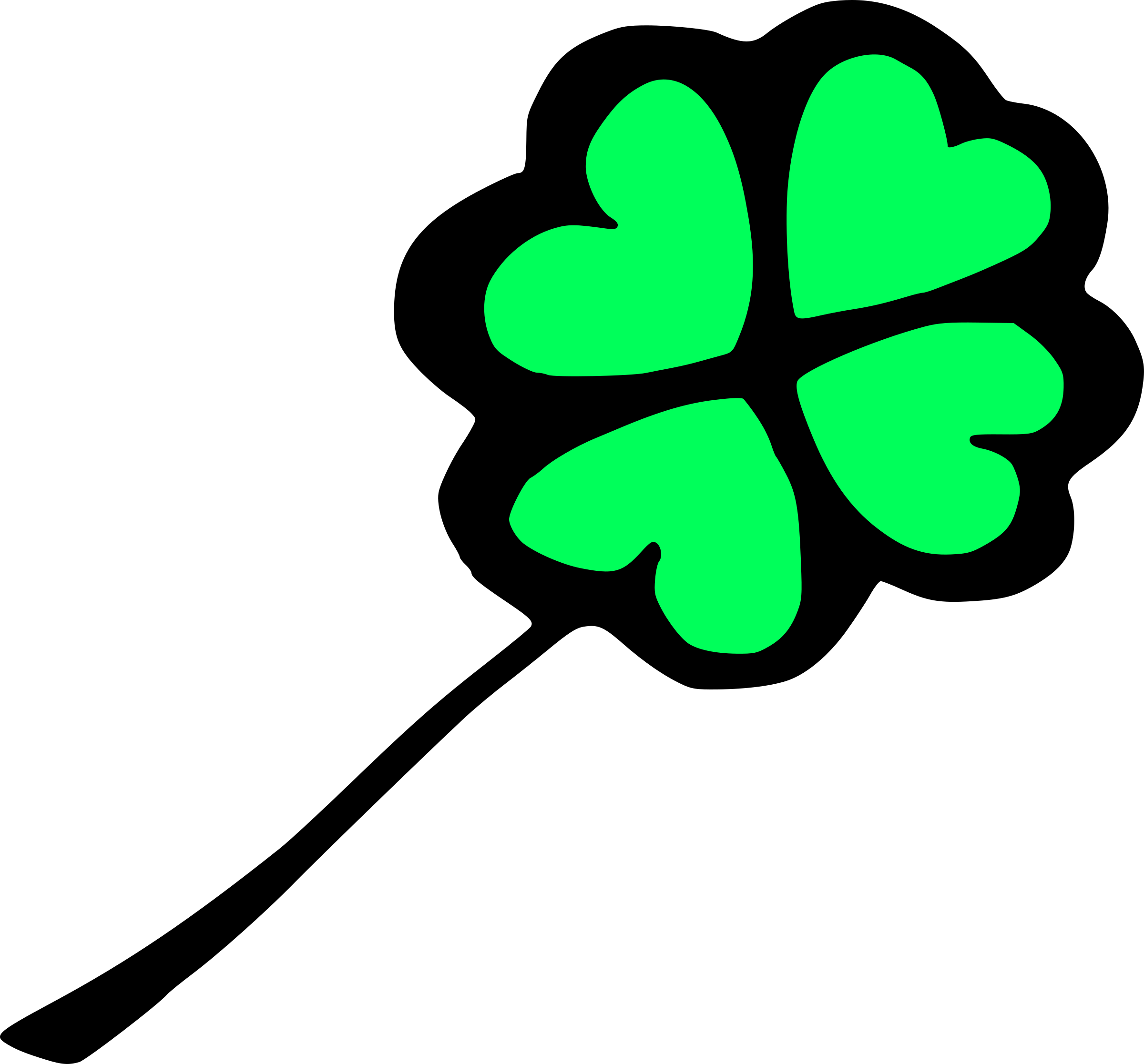 Four leaf clover by liftarn