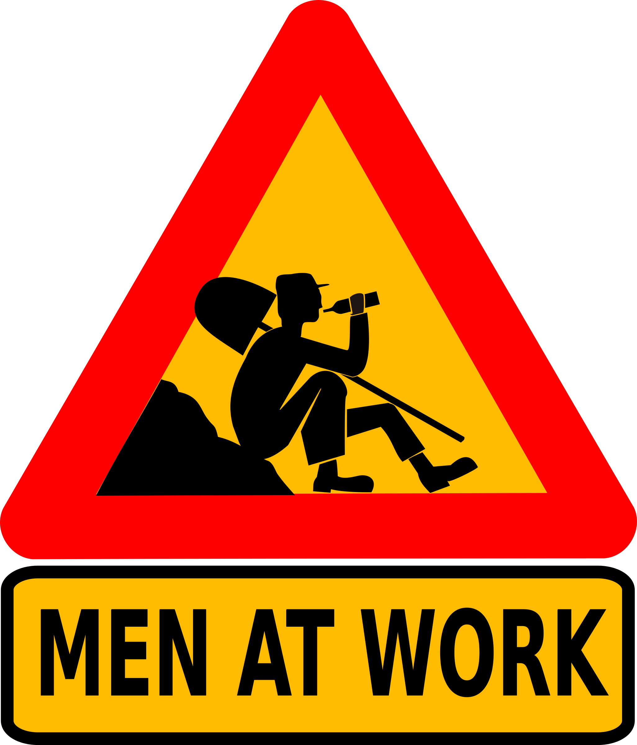Men at work by dominiquechappard