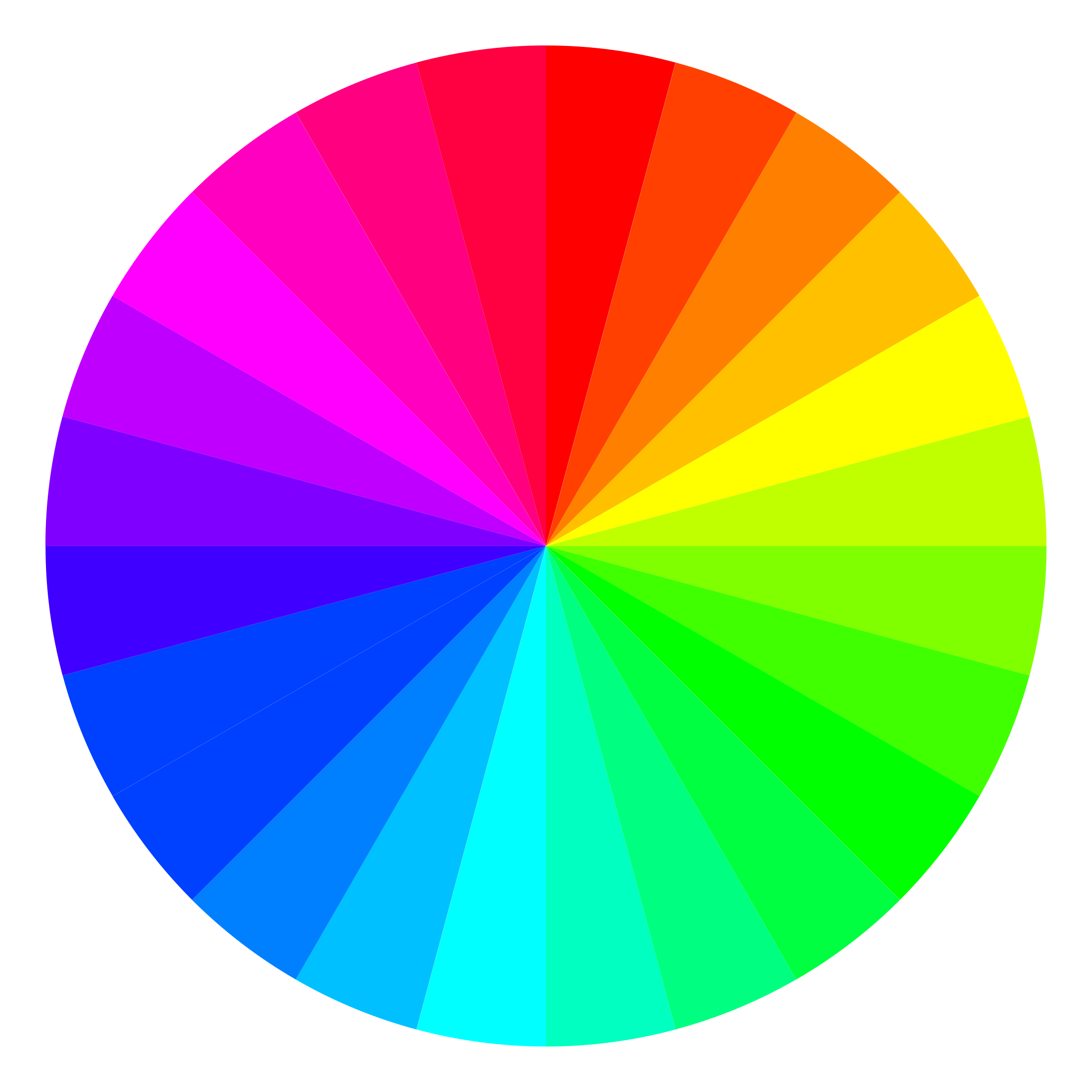 24 color beach ball by 10binary