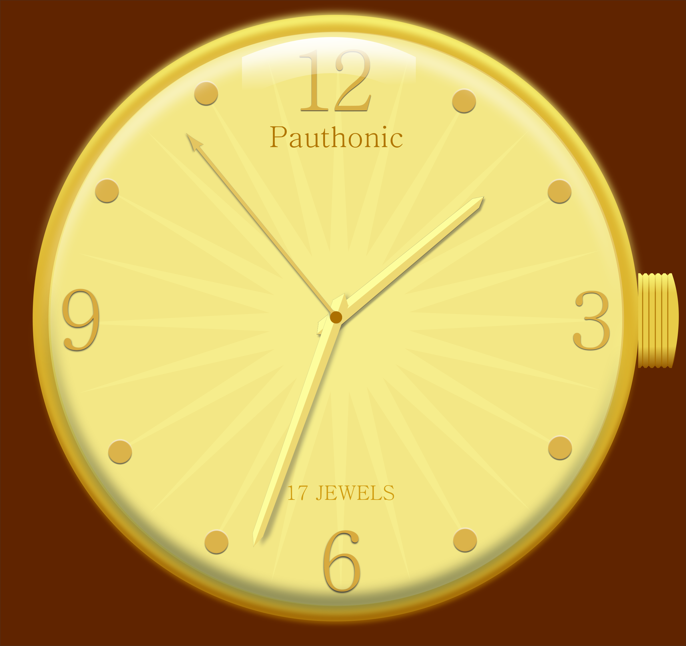 Rmx golden watch by pauthonic