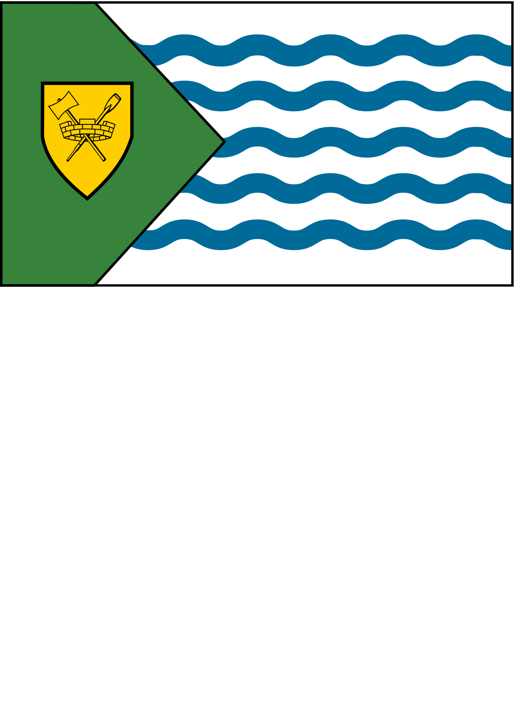 Flag of the city of Vancouver by Anonymous