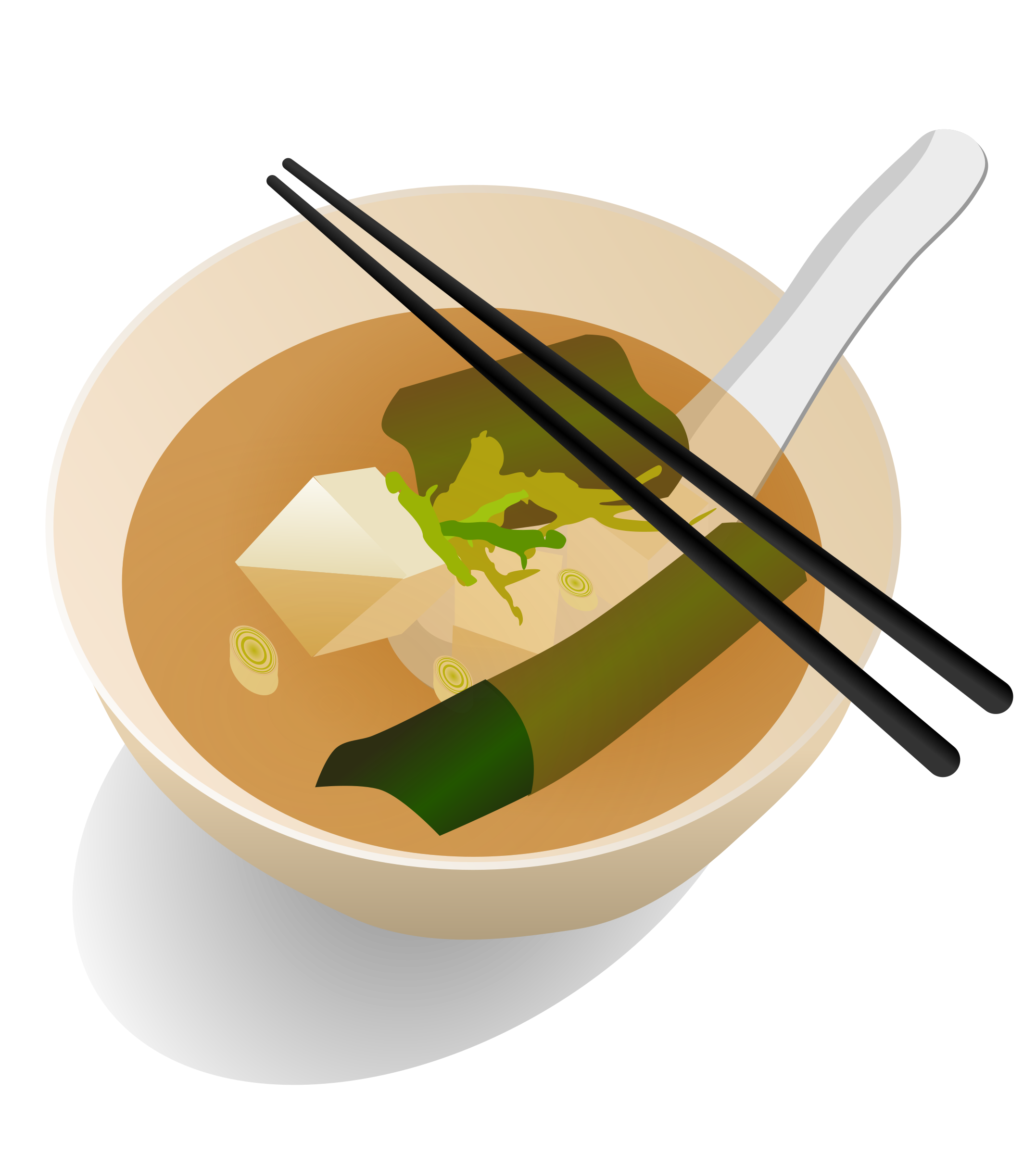 Miso Soup by gnokii