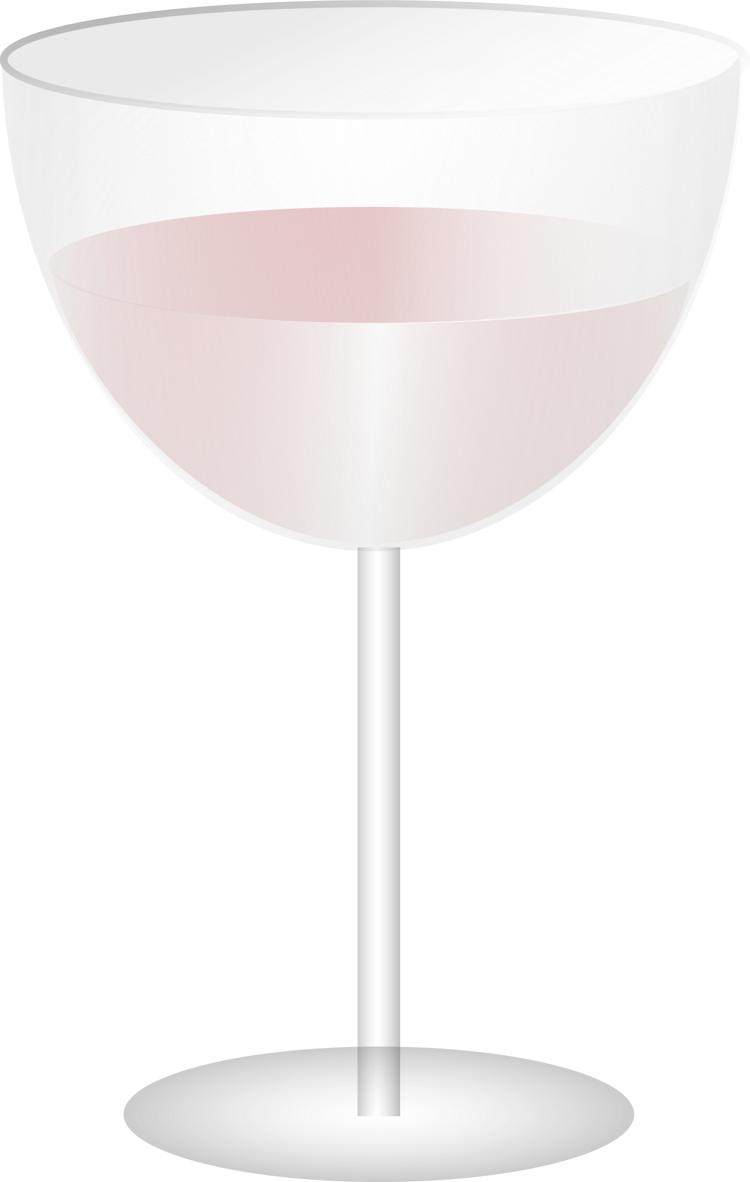 wine glass by Anonymous
