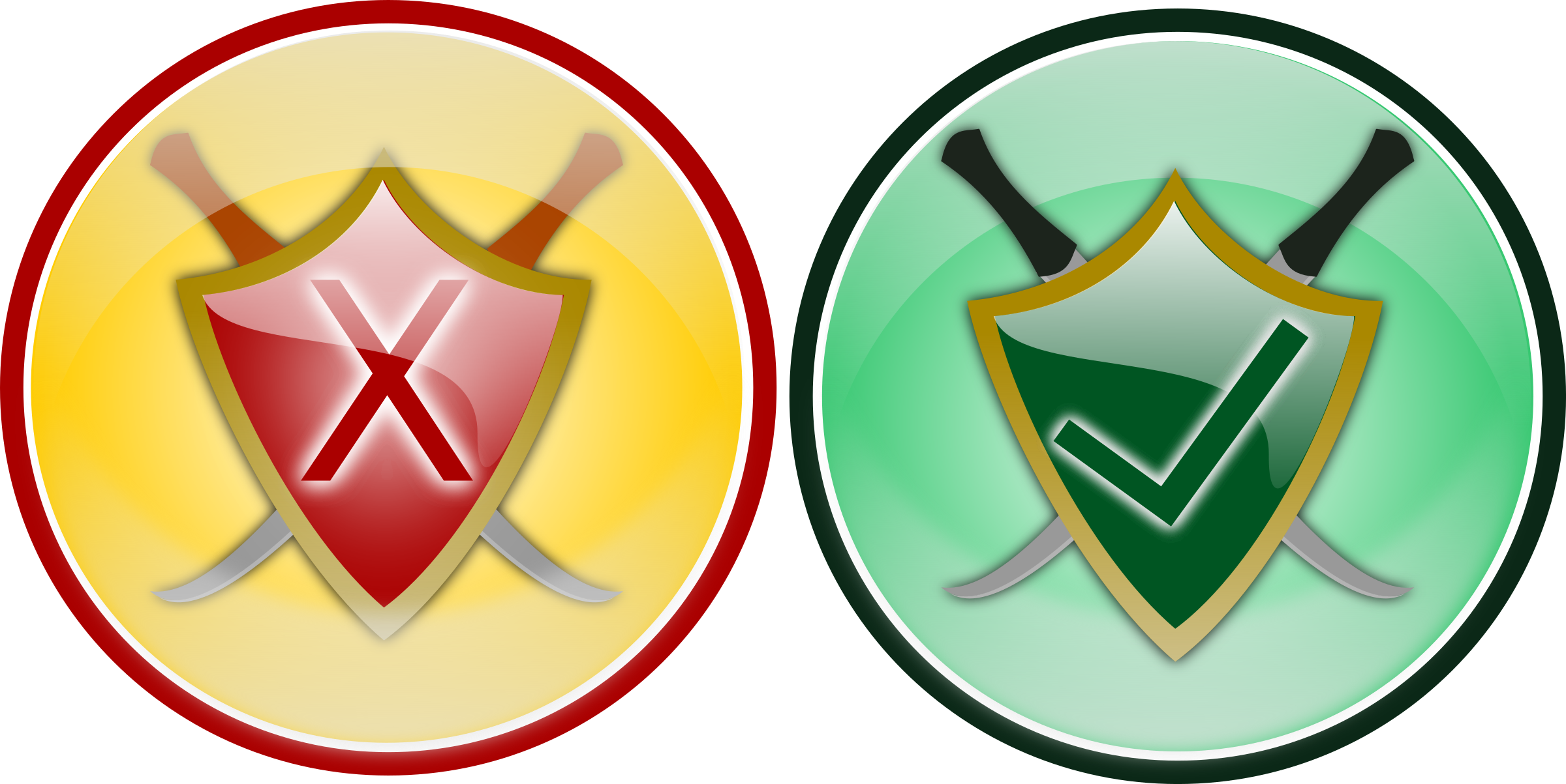 Clipart - Security Icon 2: https://openclipart.org/detail/134167/security-icon-2