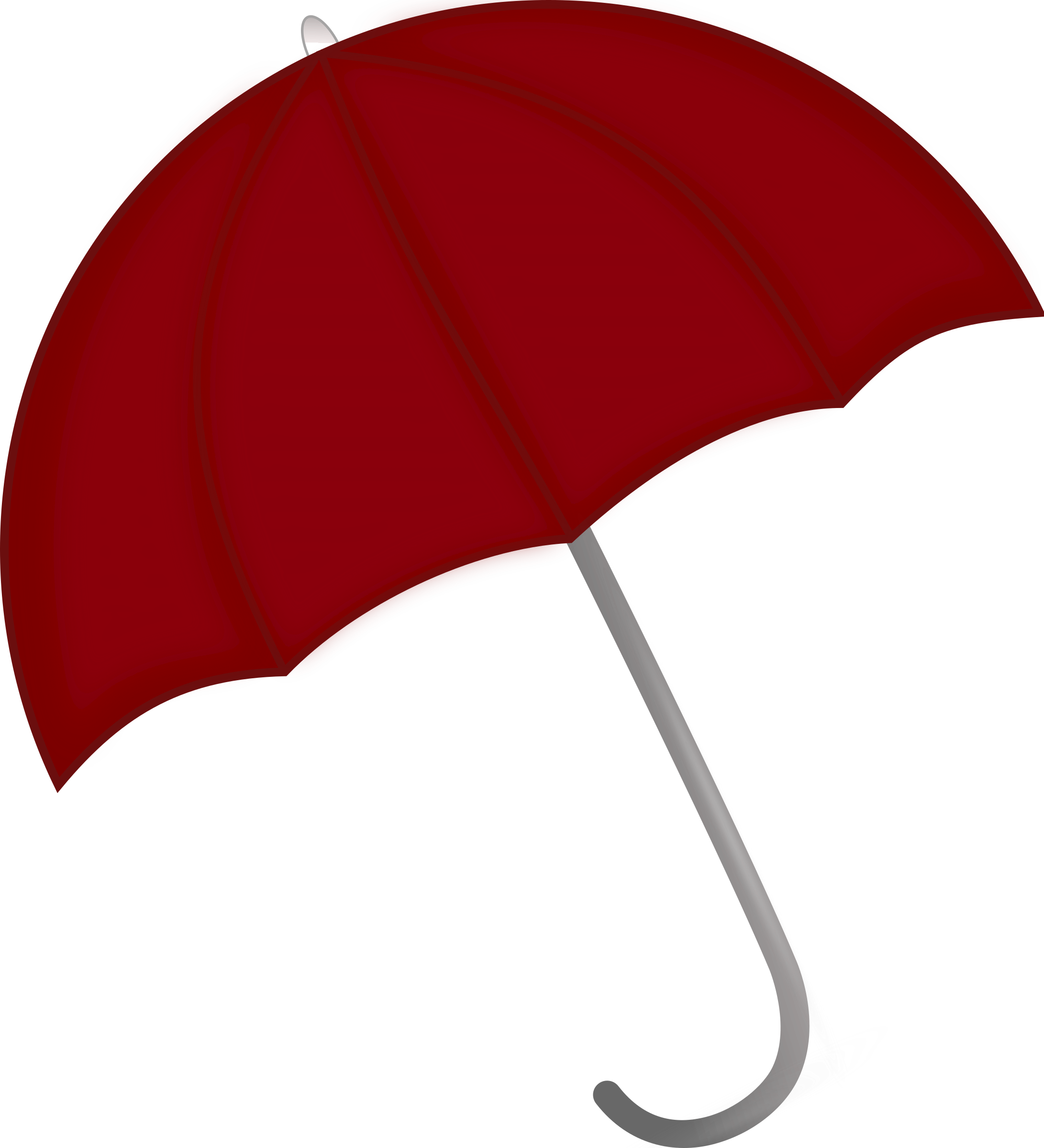 Red Umbrella by pixabella
