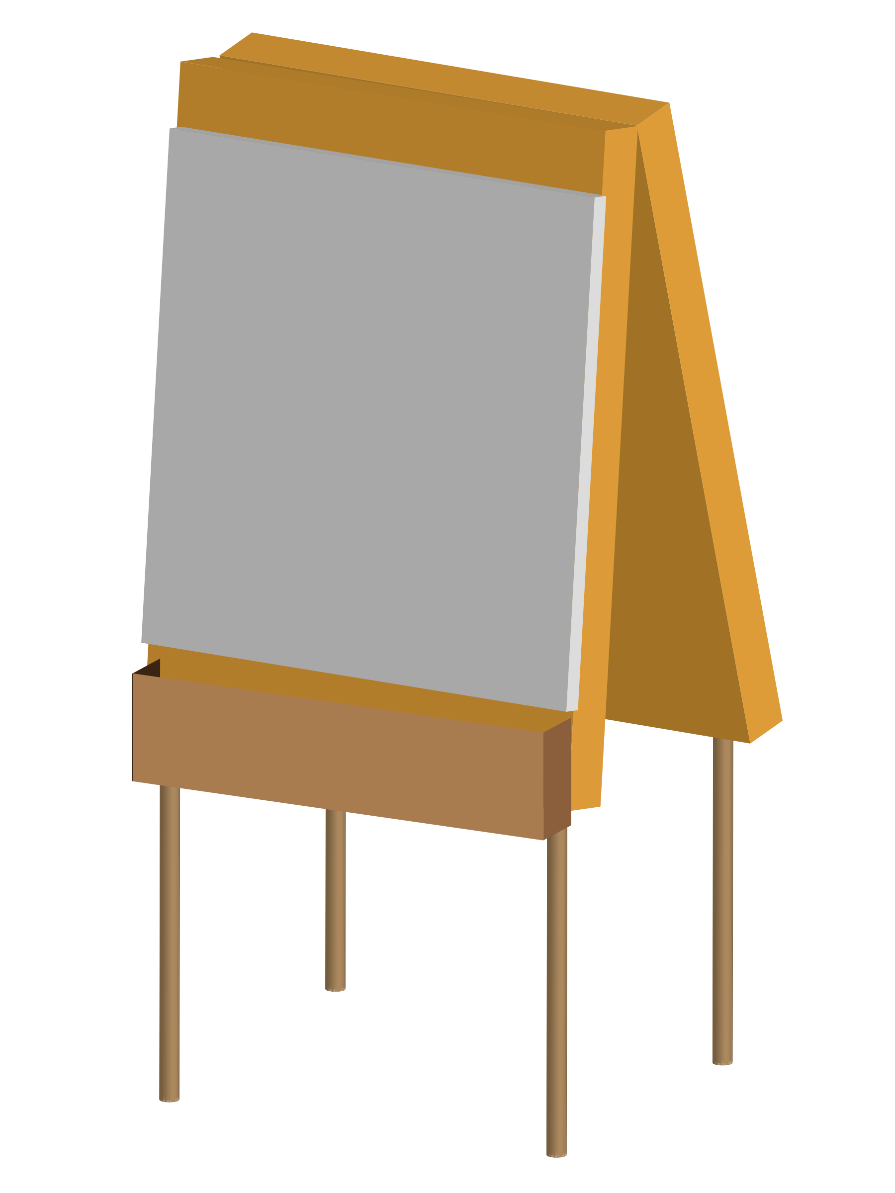 An easel by jhnri4
