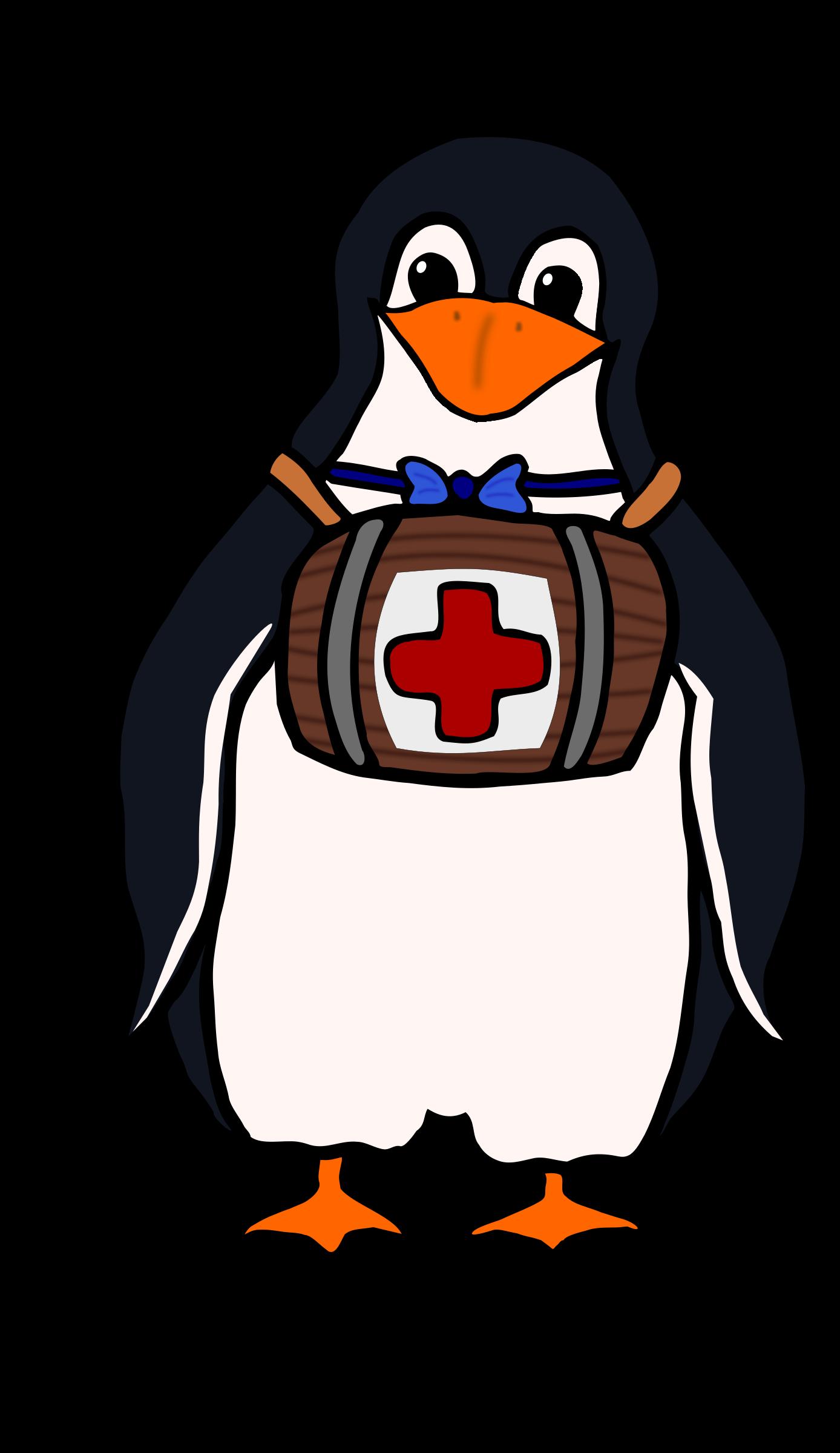 St. Bernard's Penguin by Moini