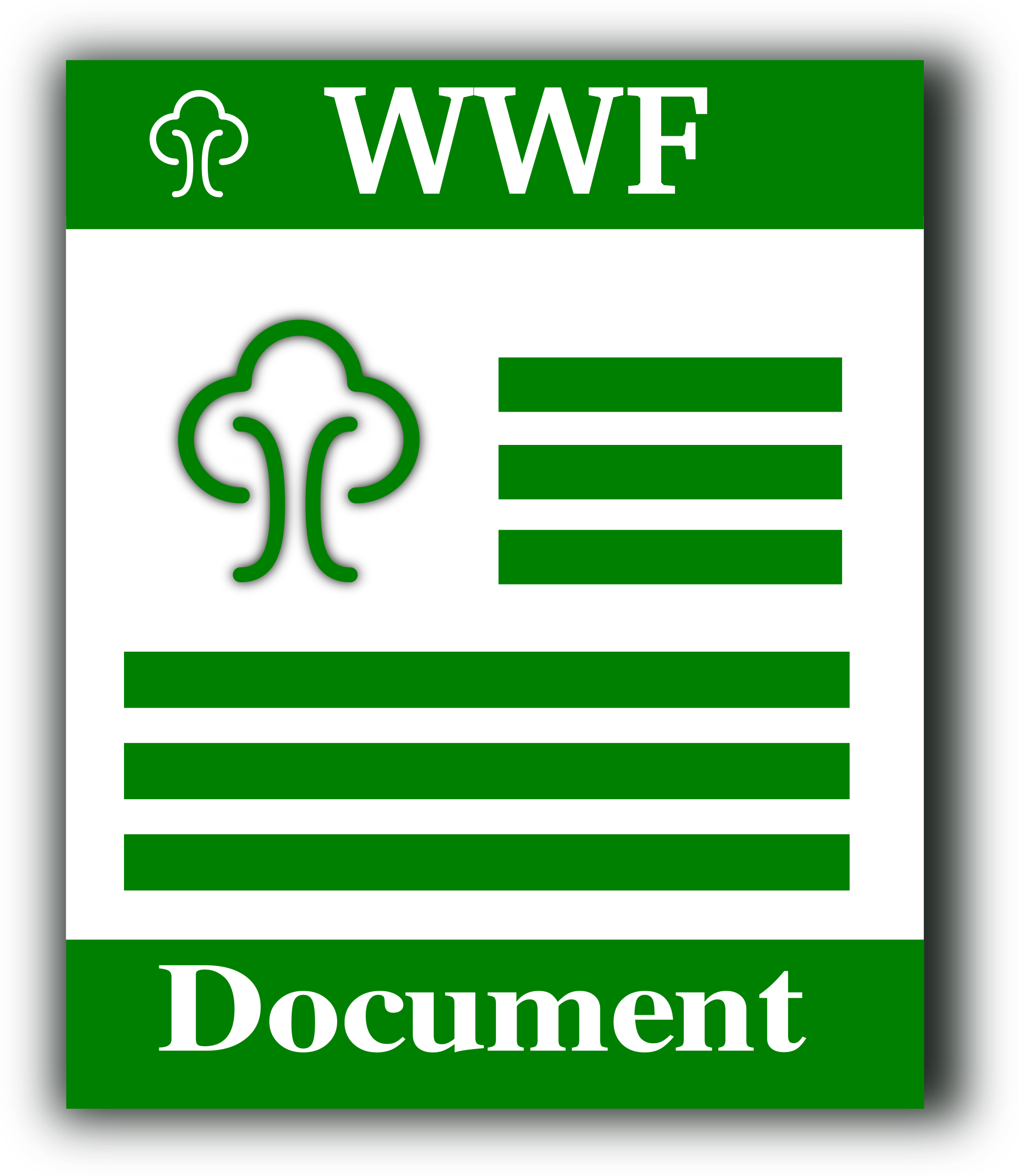 WWF format icon by gsagri04