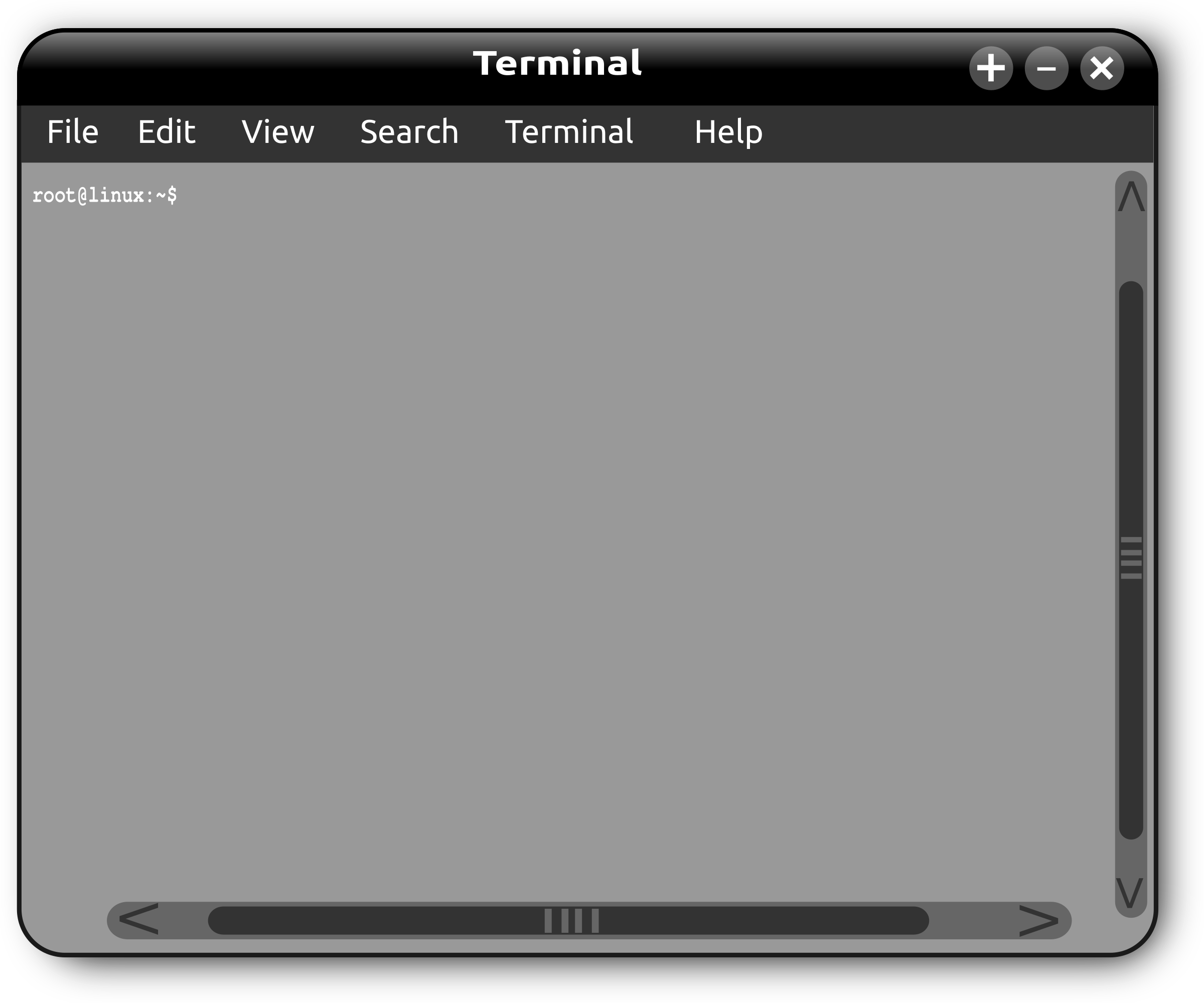 Linux Terminal Window by gsagri04