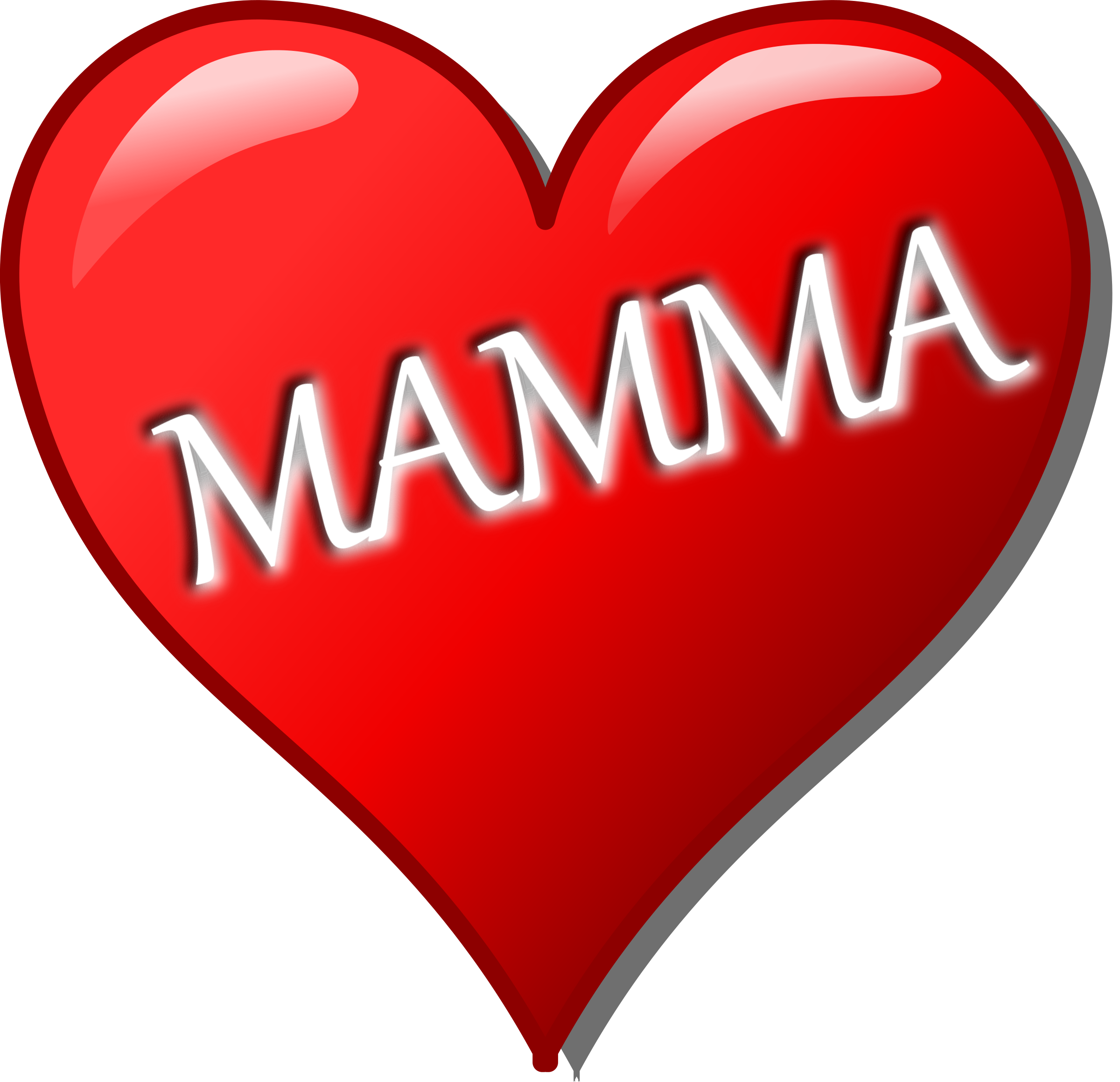 clipart cuore per la festa della mamma. Black Bedroom Furniture Sets. Home Design Ideas