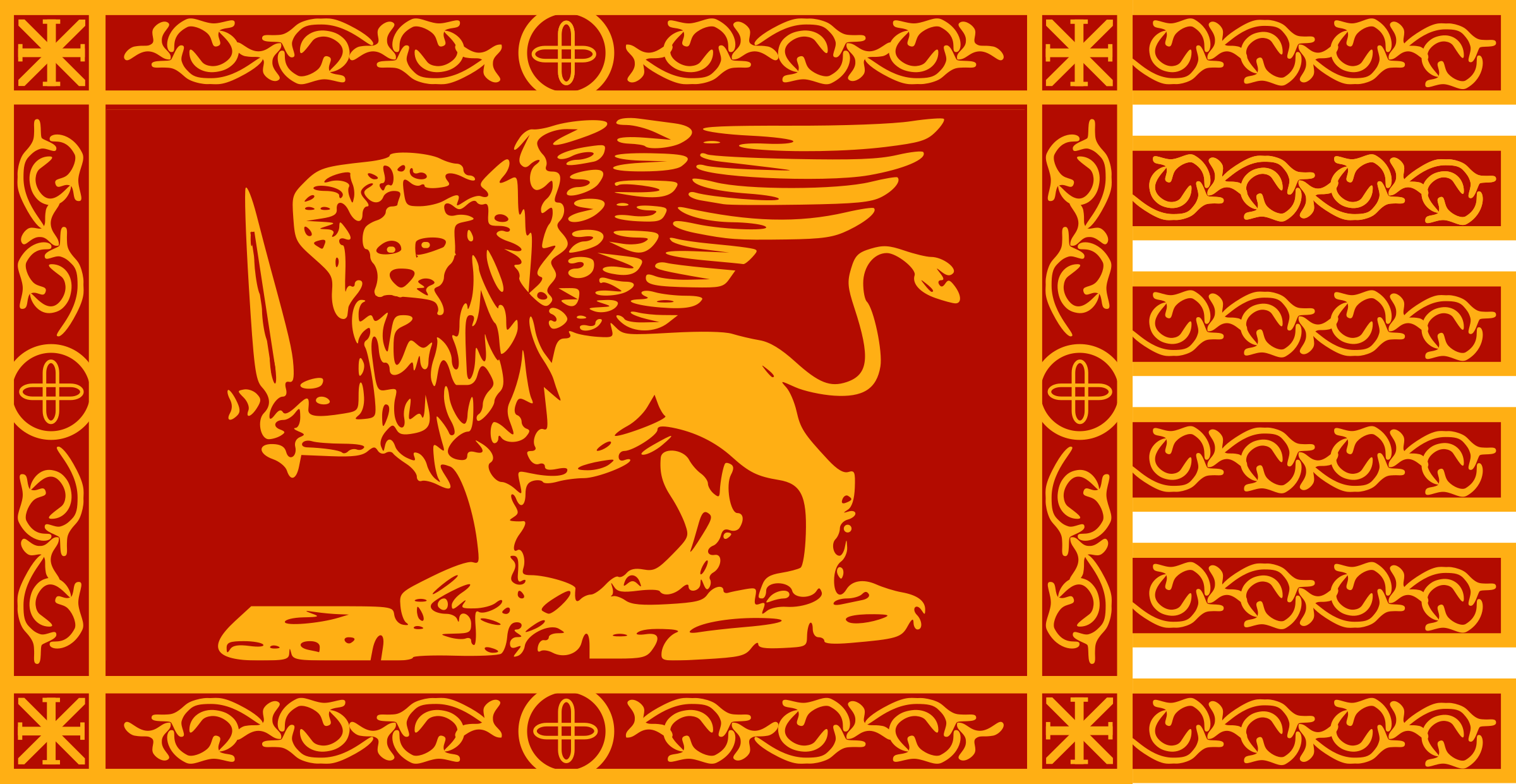 War Flag of Venice by Anonymous
