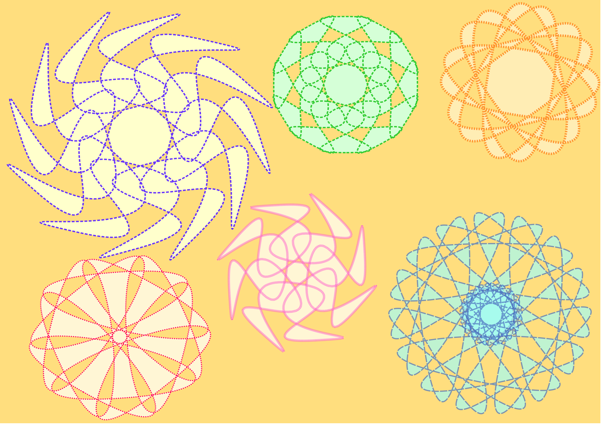 Decorative Circles by OlKu