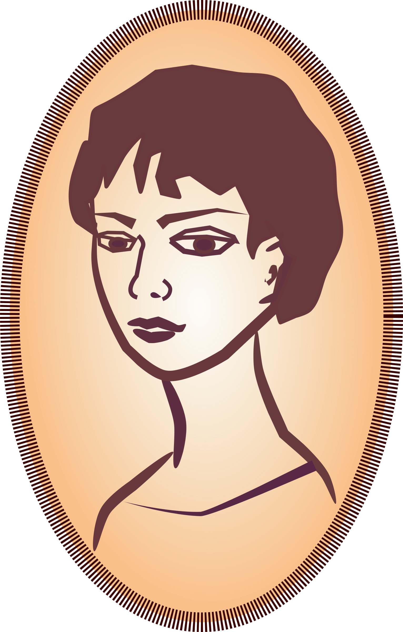 Woman's portrait by OlKu