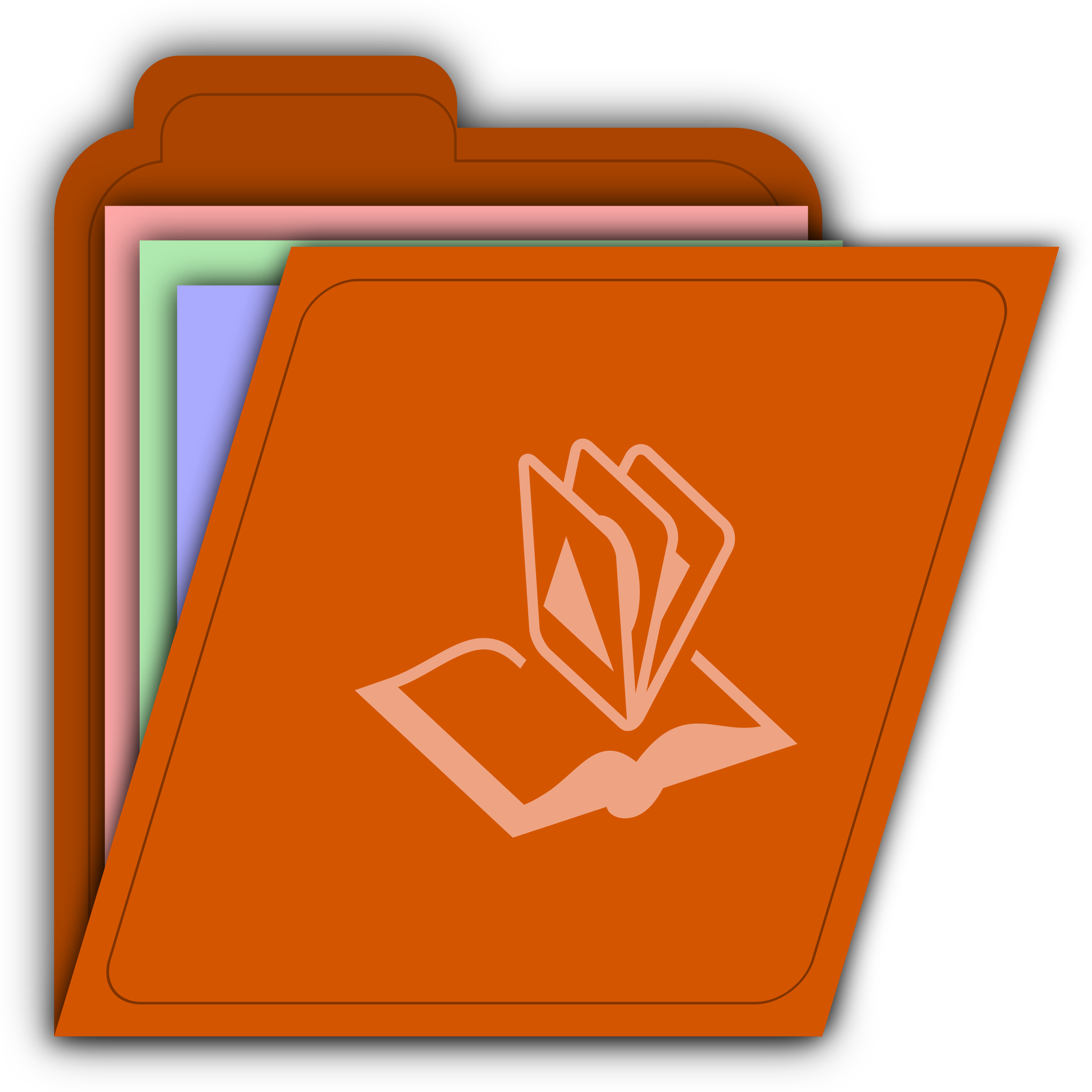 The images for -- Microsoft Office Folder Icon
