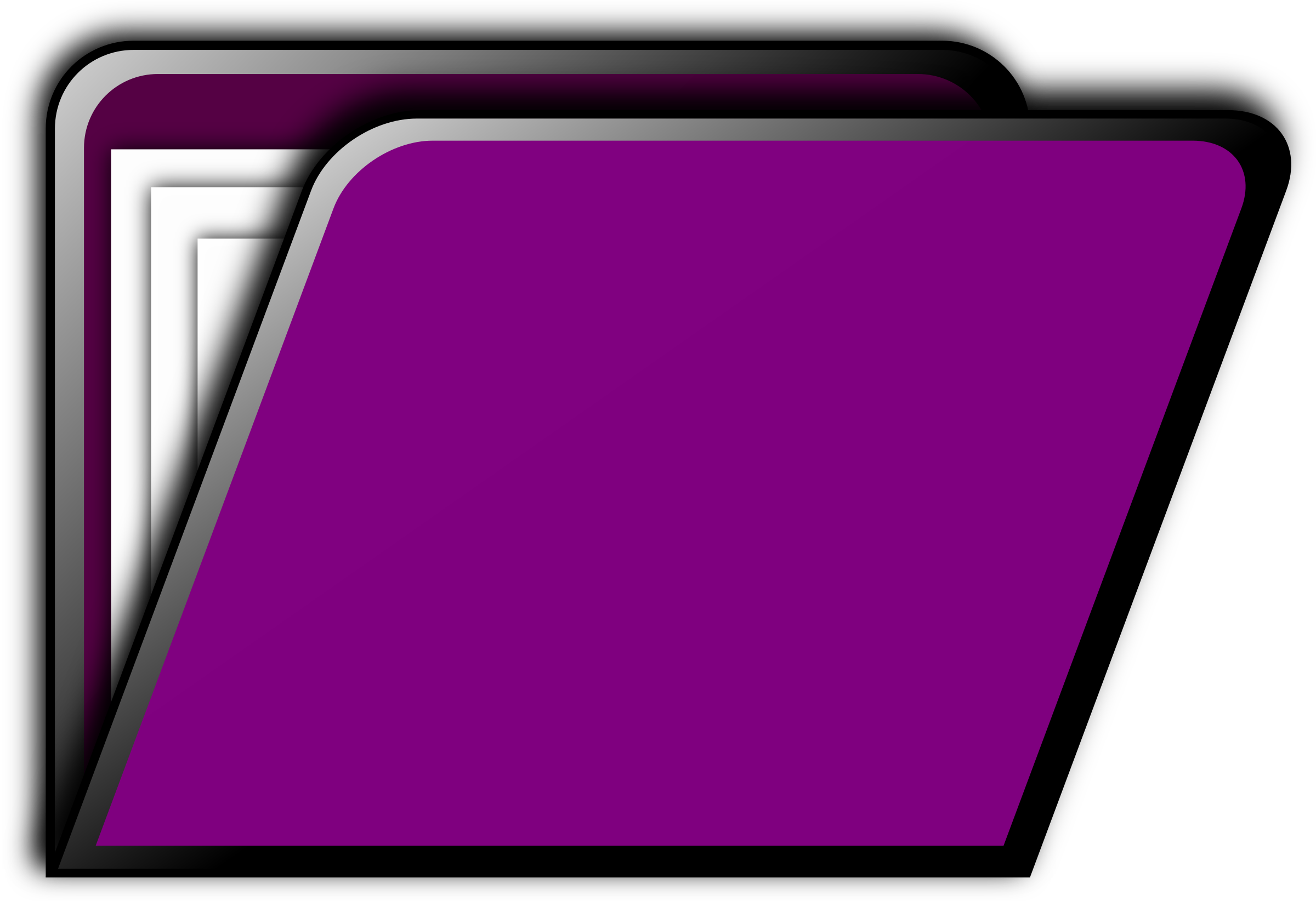 Folder Icon (purple) by gsagri04