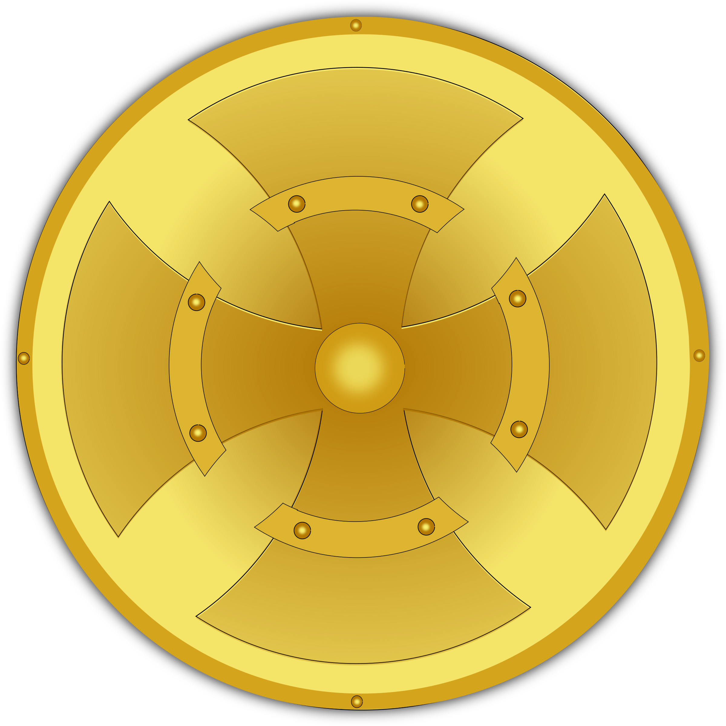 golden shield by pauthonic