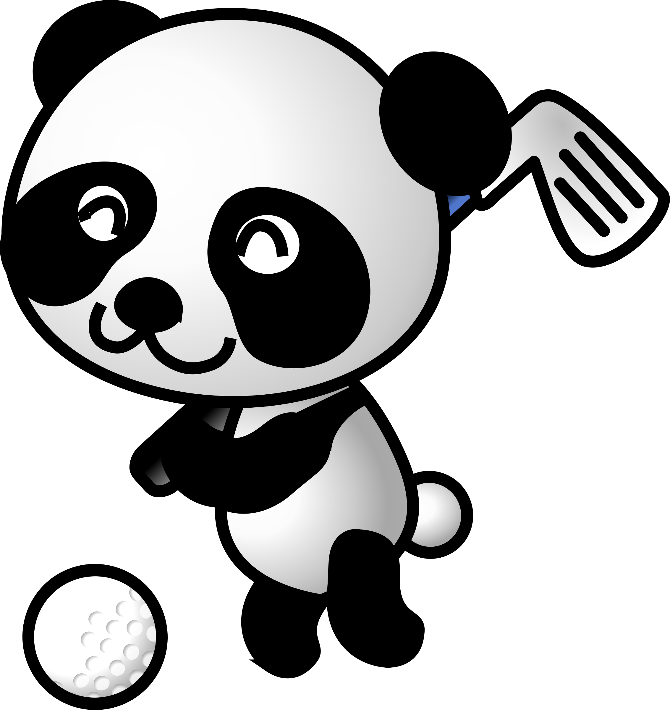golf panda by shu