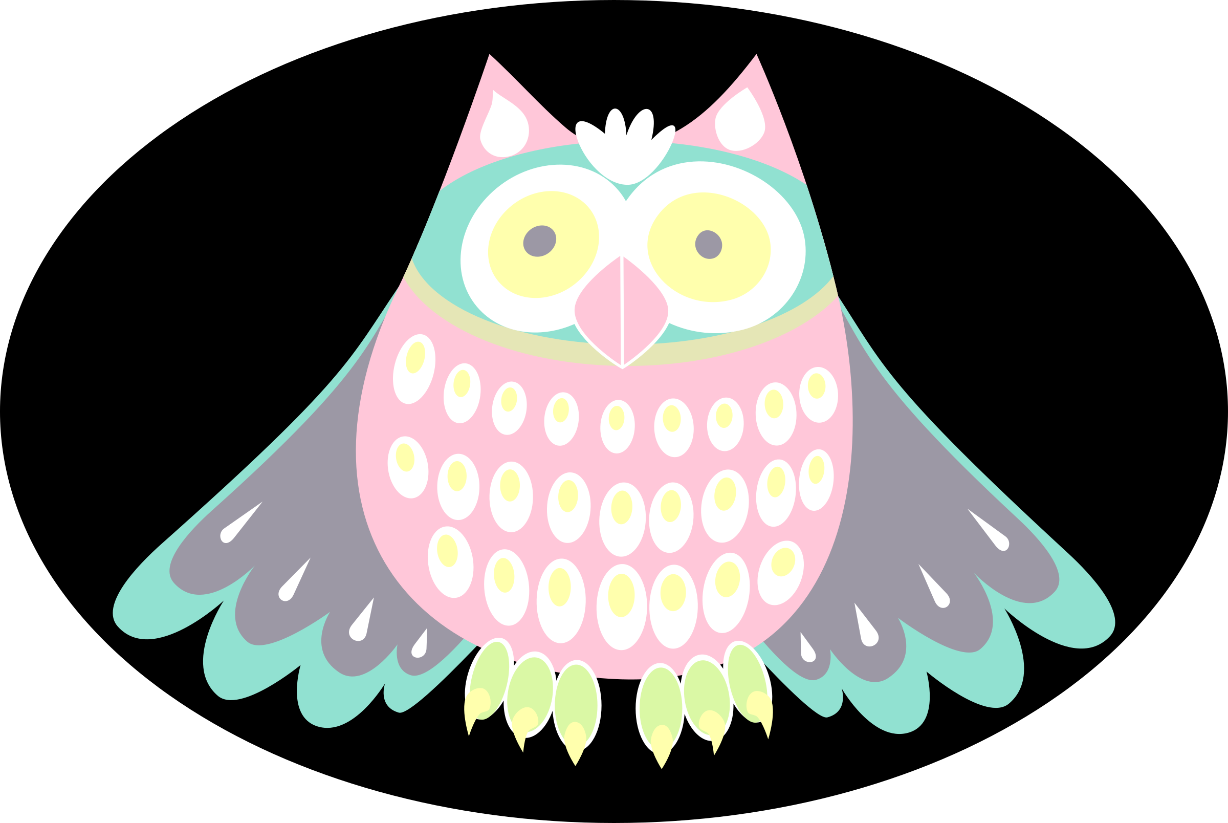 Cute owl by rones