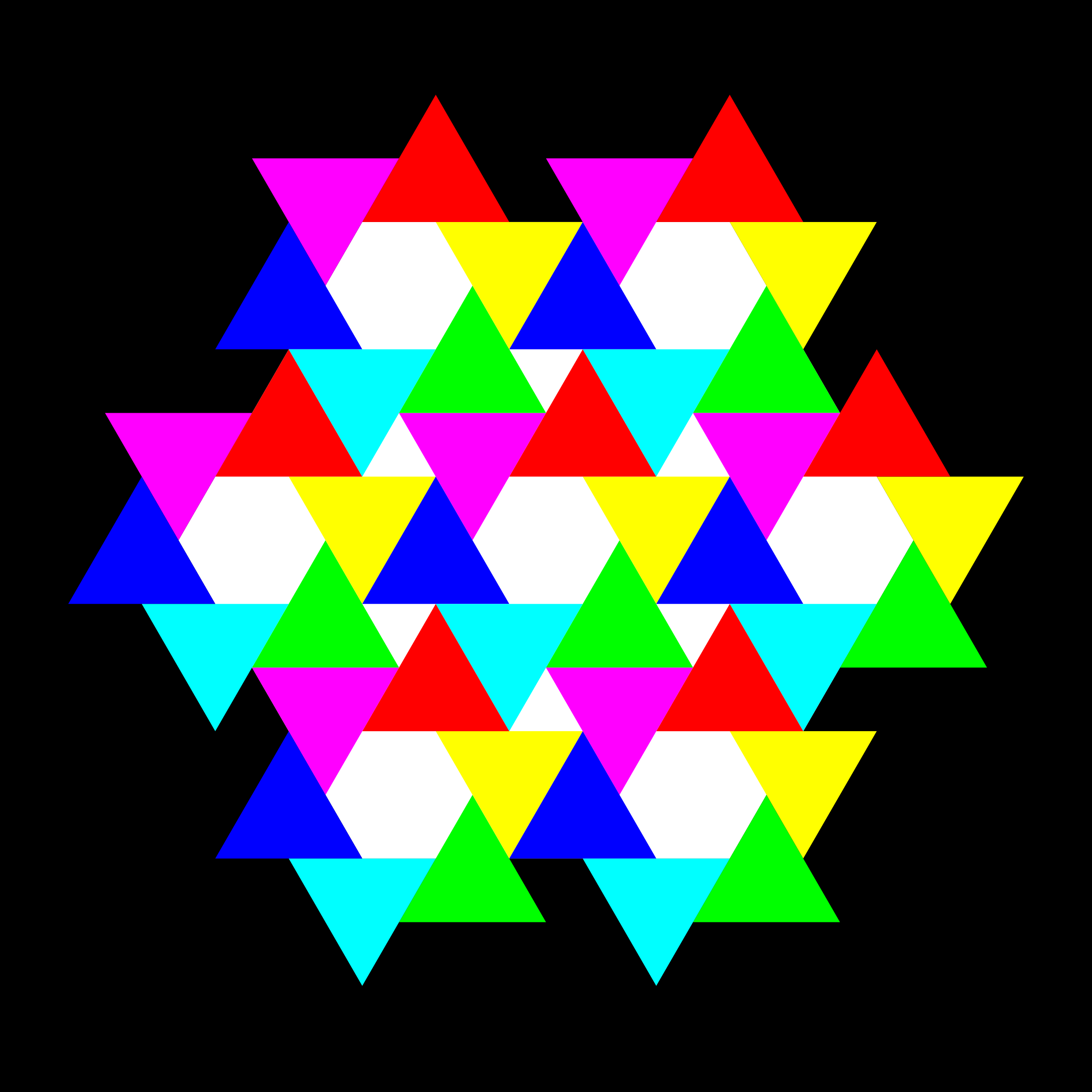 May 22 triangles and hexagons by 10binary