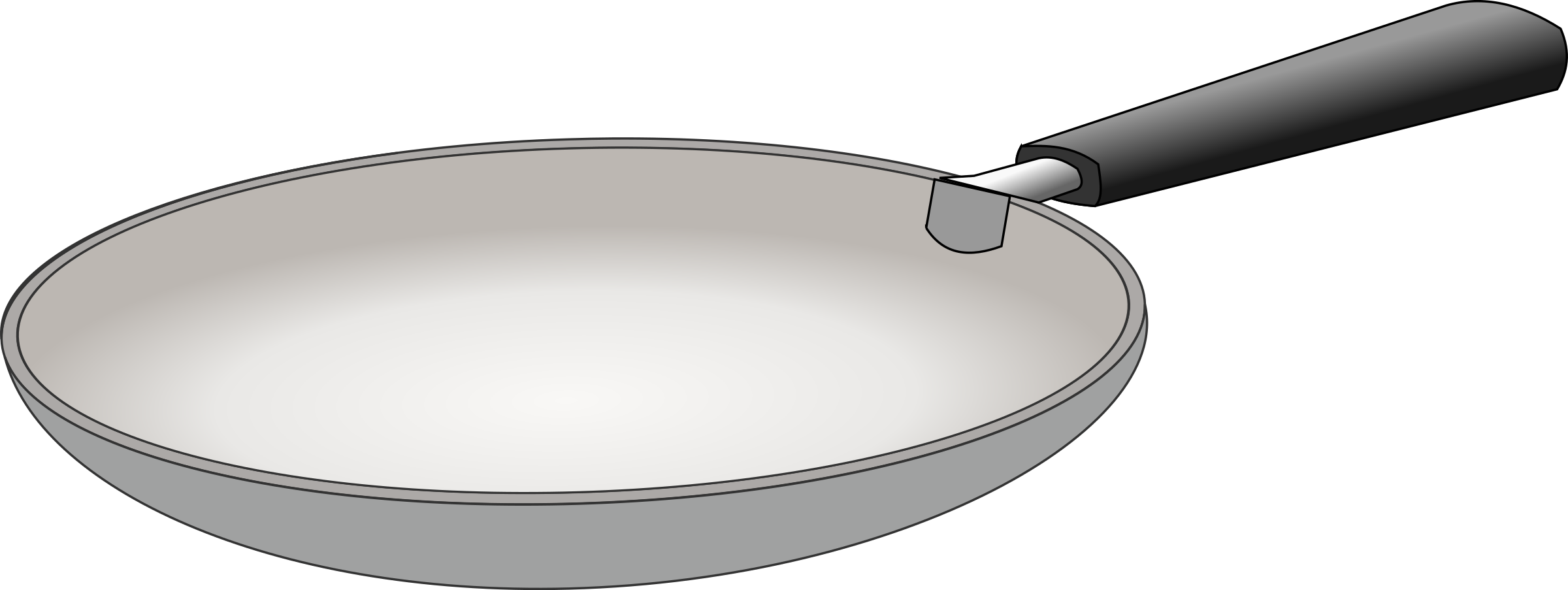 Clipart padella frying pan for Art and cuisine pans