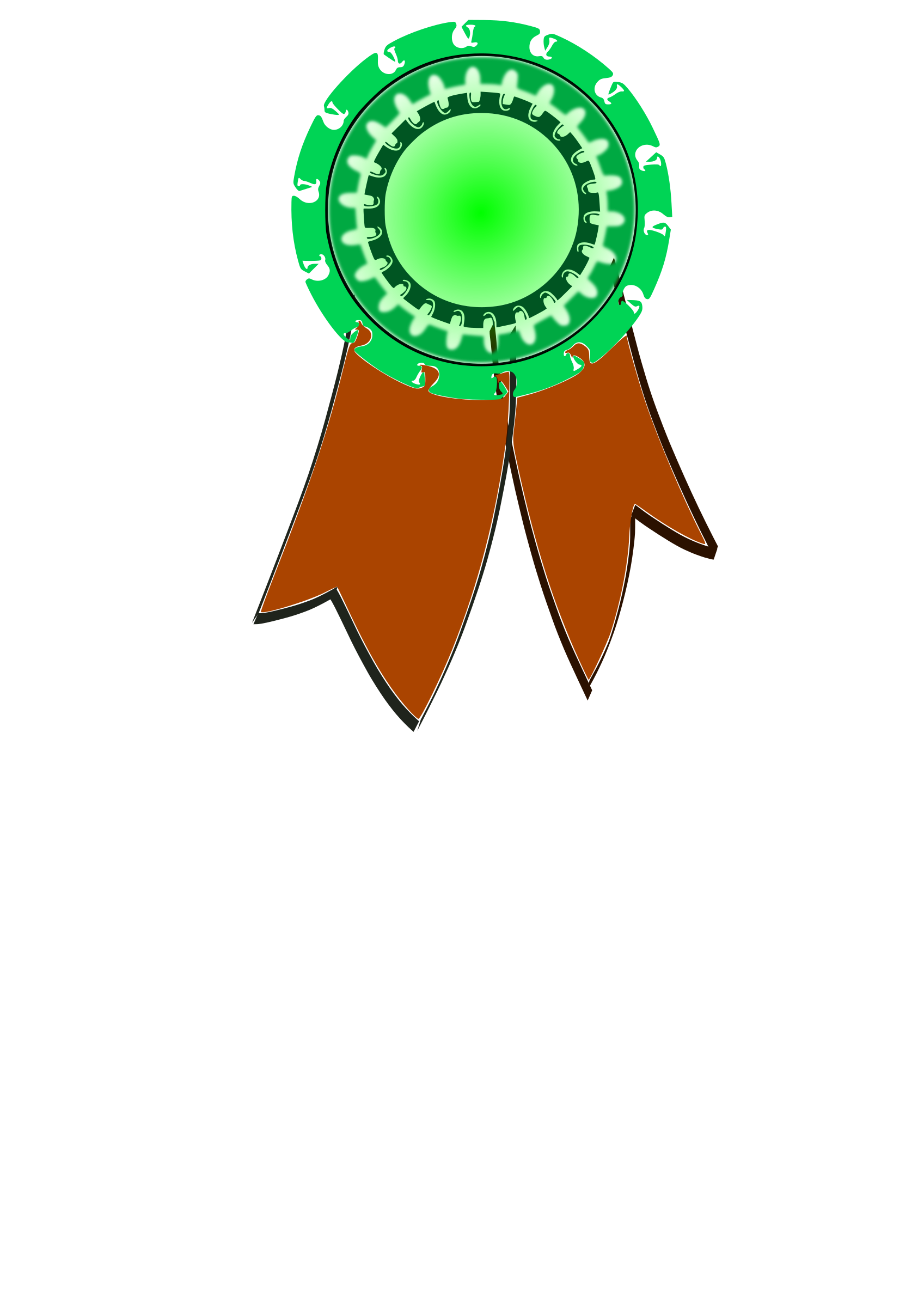 Award ribbon by cprostire